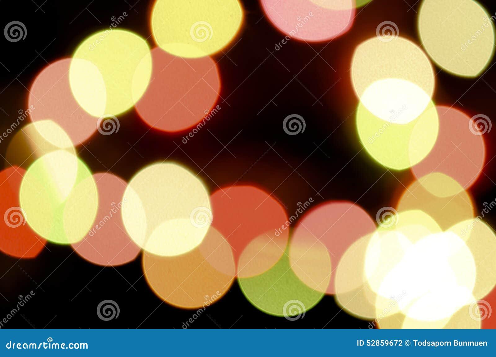 Abstracte cirkelbokeh lichte achtergrond