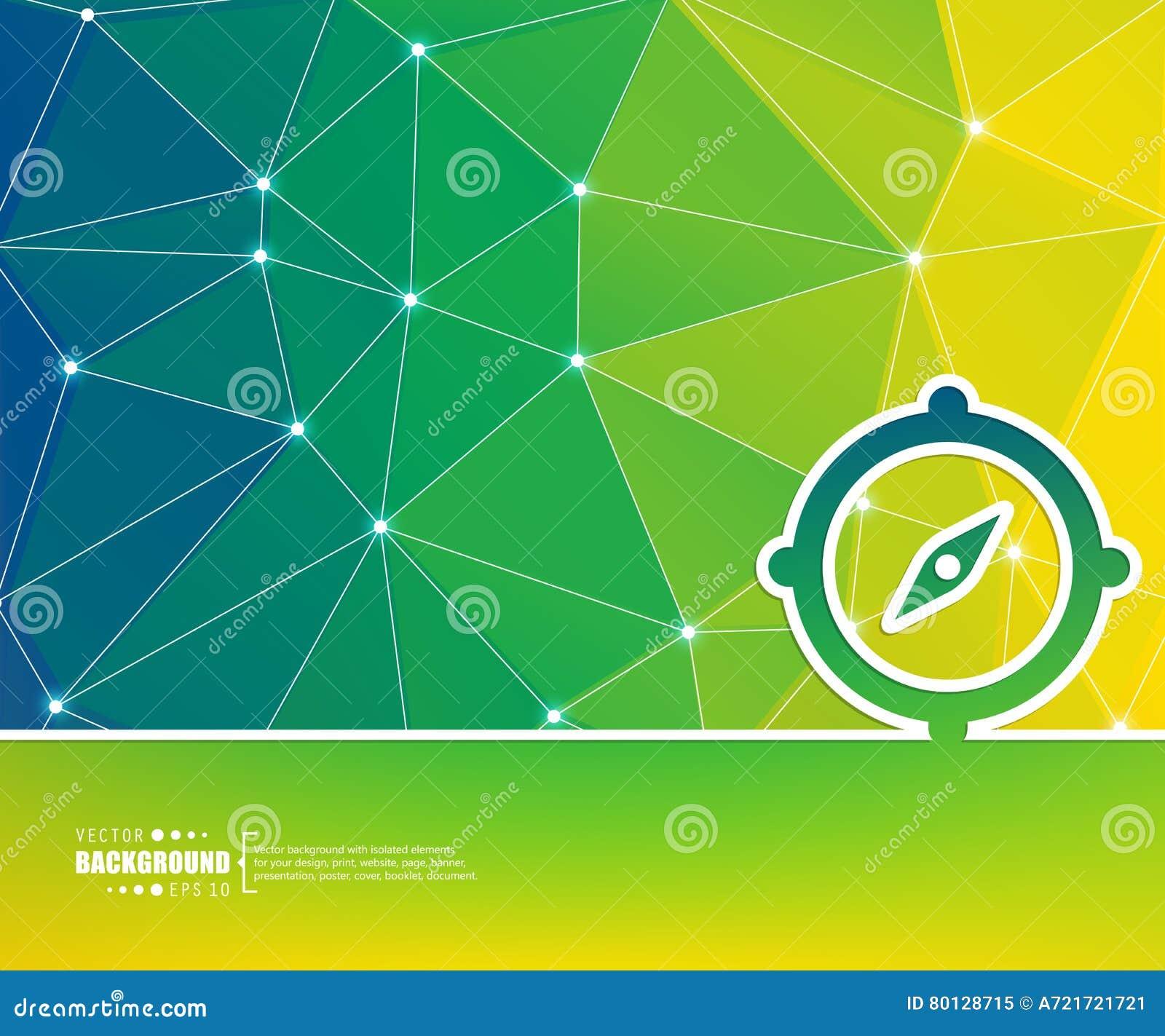 Abstracte Creatieve concepten vectorachtergrond Voor Web en mobiele toepassingen, het ontwerp van het illustratiemalplaatje, zake
