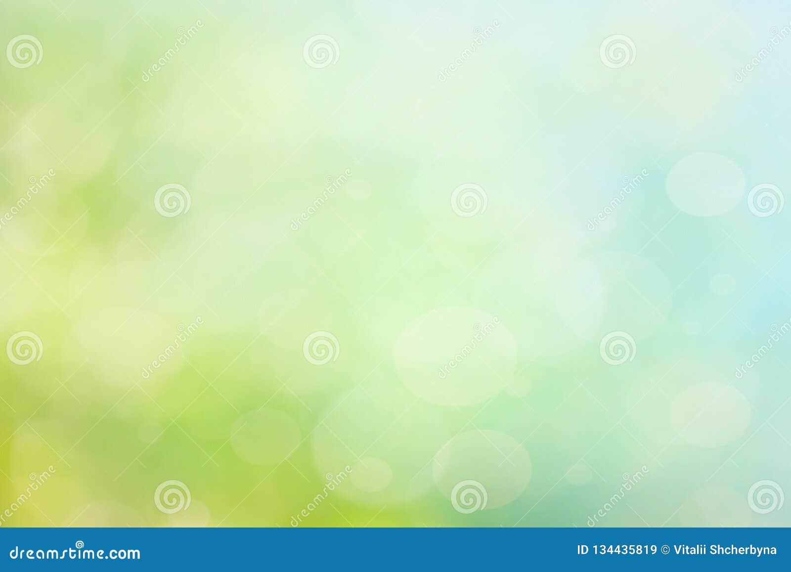 Abstracte de lente of de zomer bokeh achtergrond