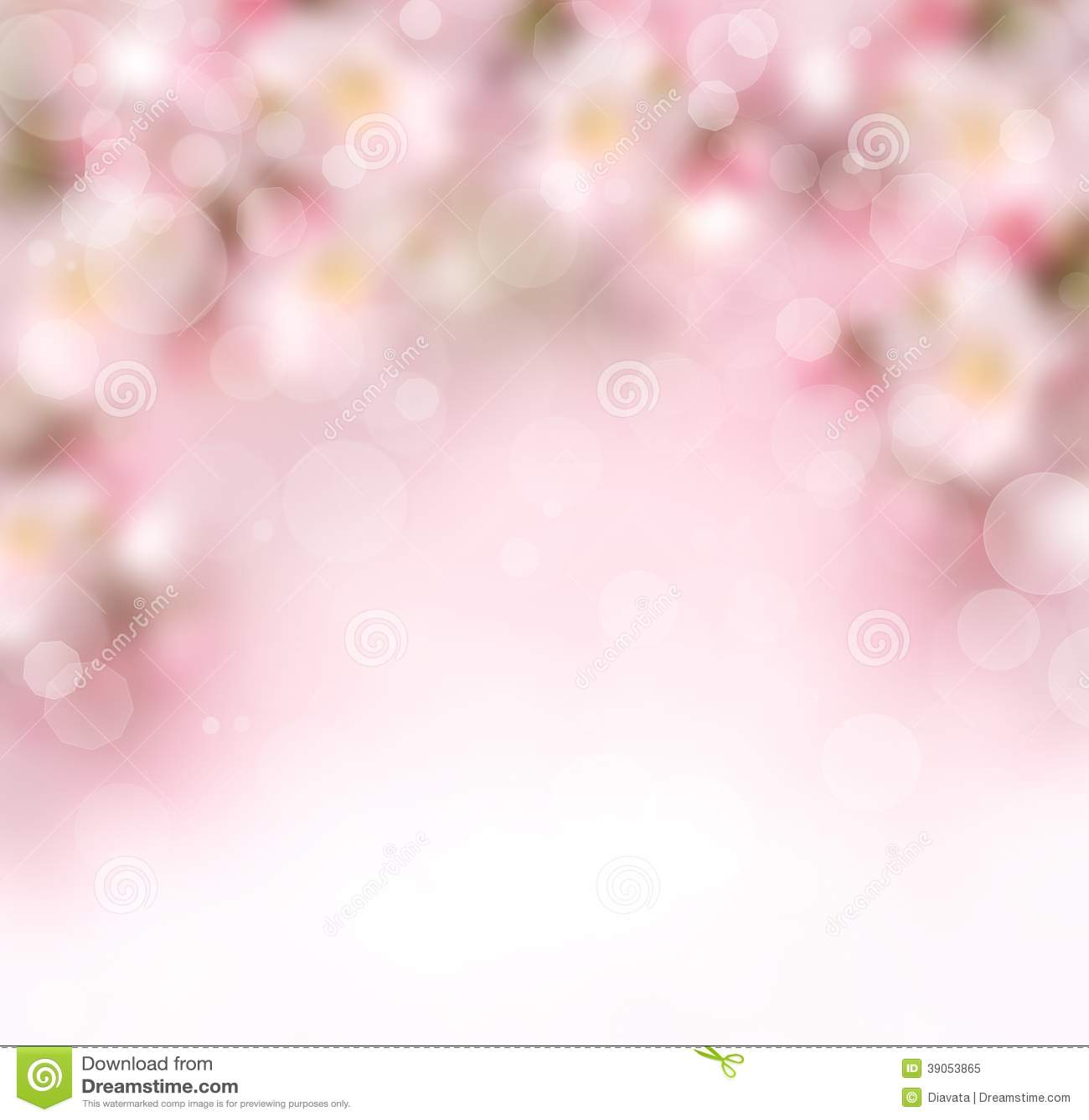 Abstracte de lenteachtergrond met bloemen