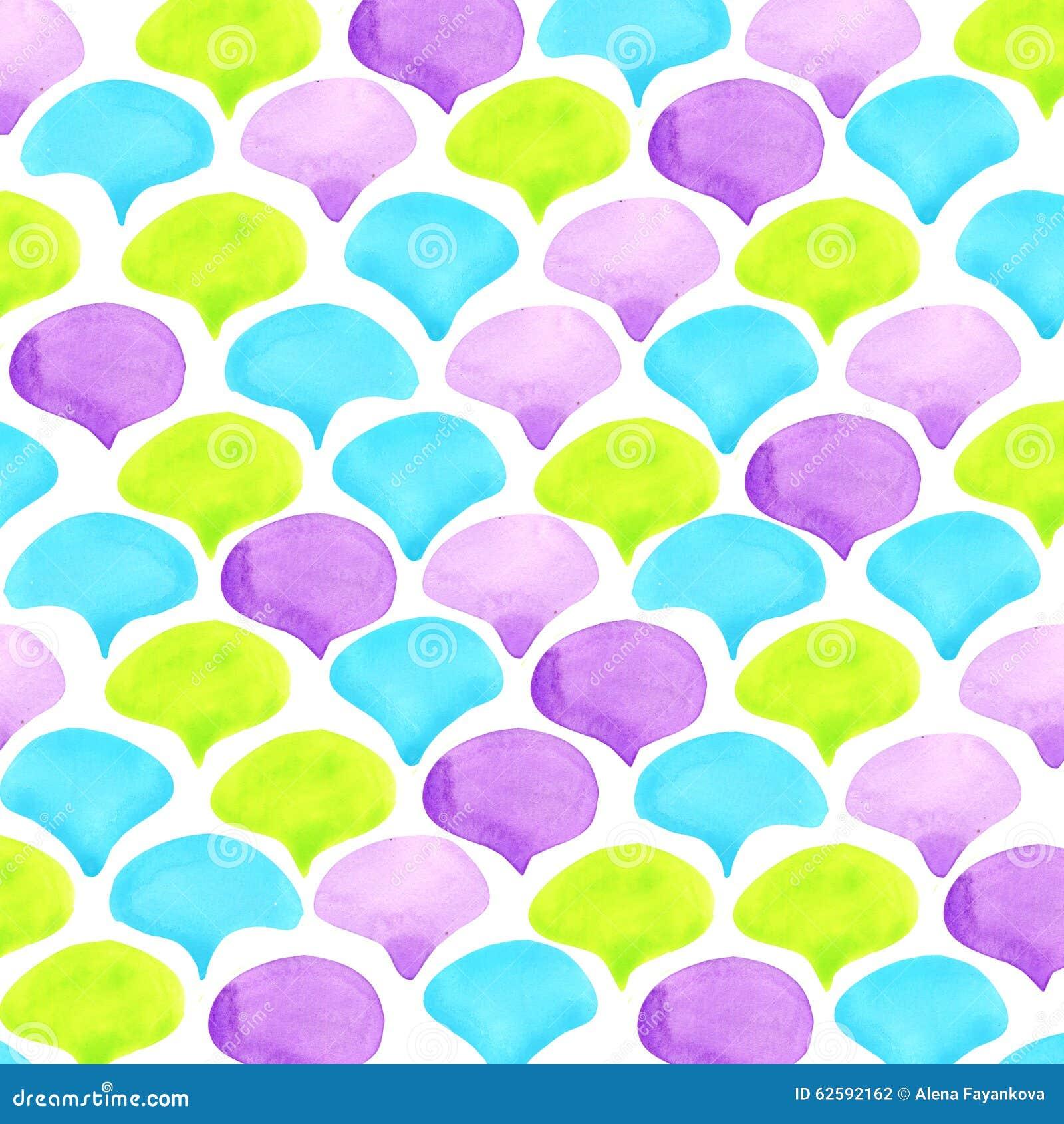 Abstracte de textuurachtergrond van waterverfschalen
