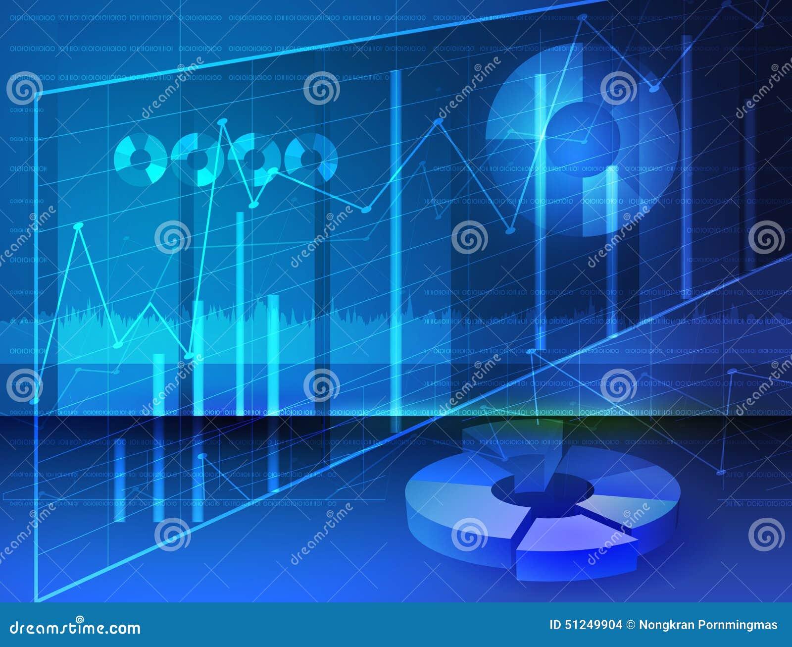 Abstracte Diagrammen, Voorraadmedia Beeld digitale grafieken