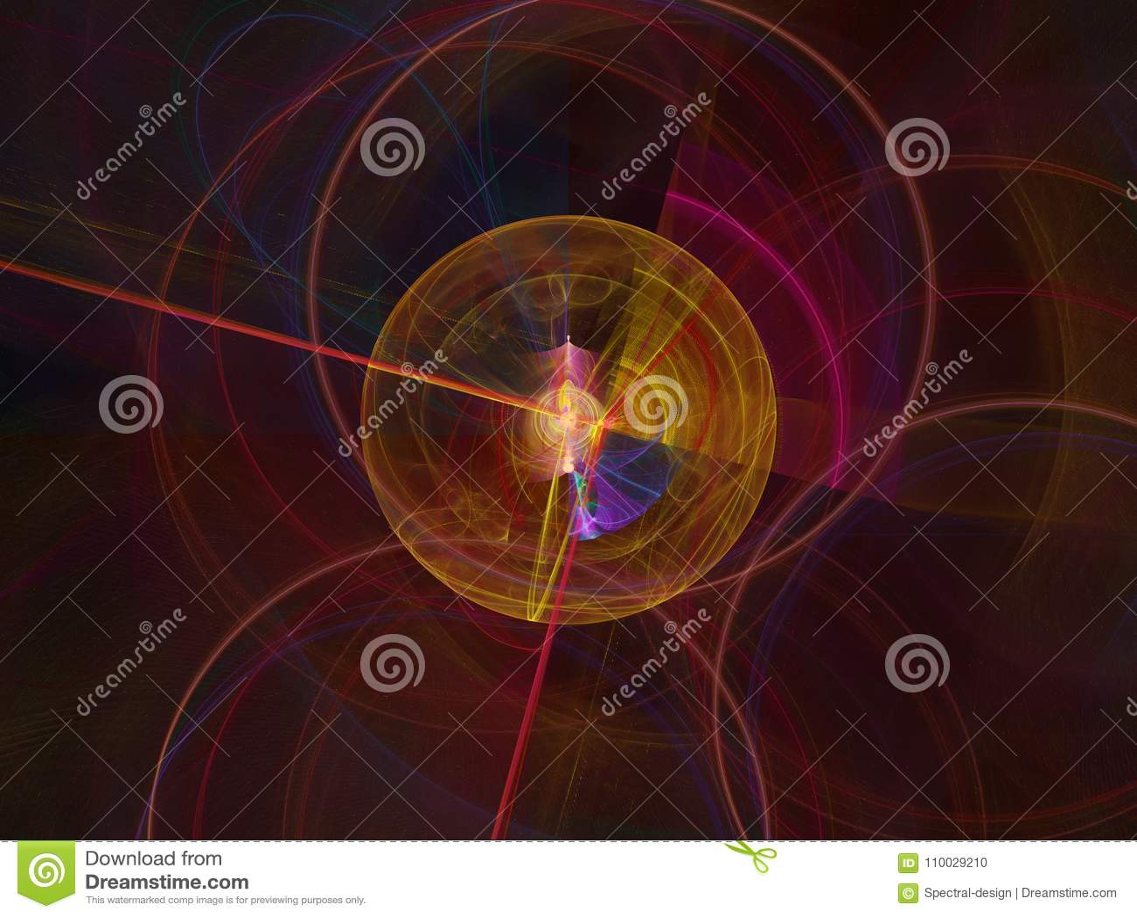 Abstracte fractal vlamfractal backgroundr