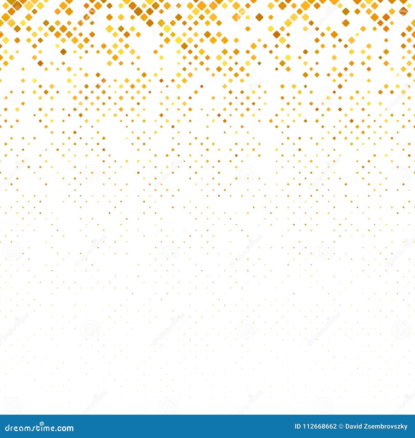 Abstracte geometrische rond gemaakte vierkante patroonachtergrond met vierkanten in variërende grootte