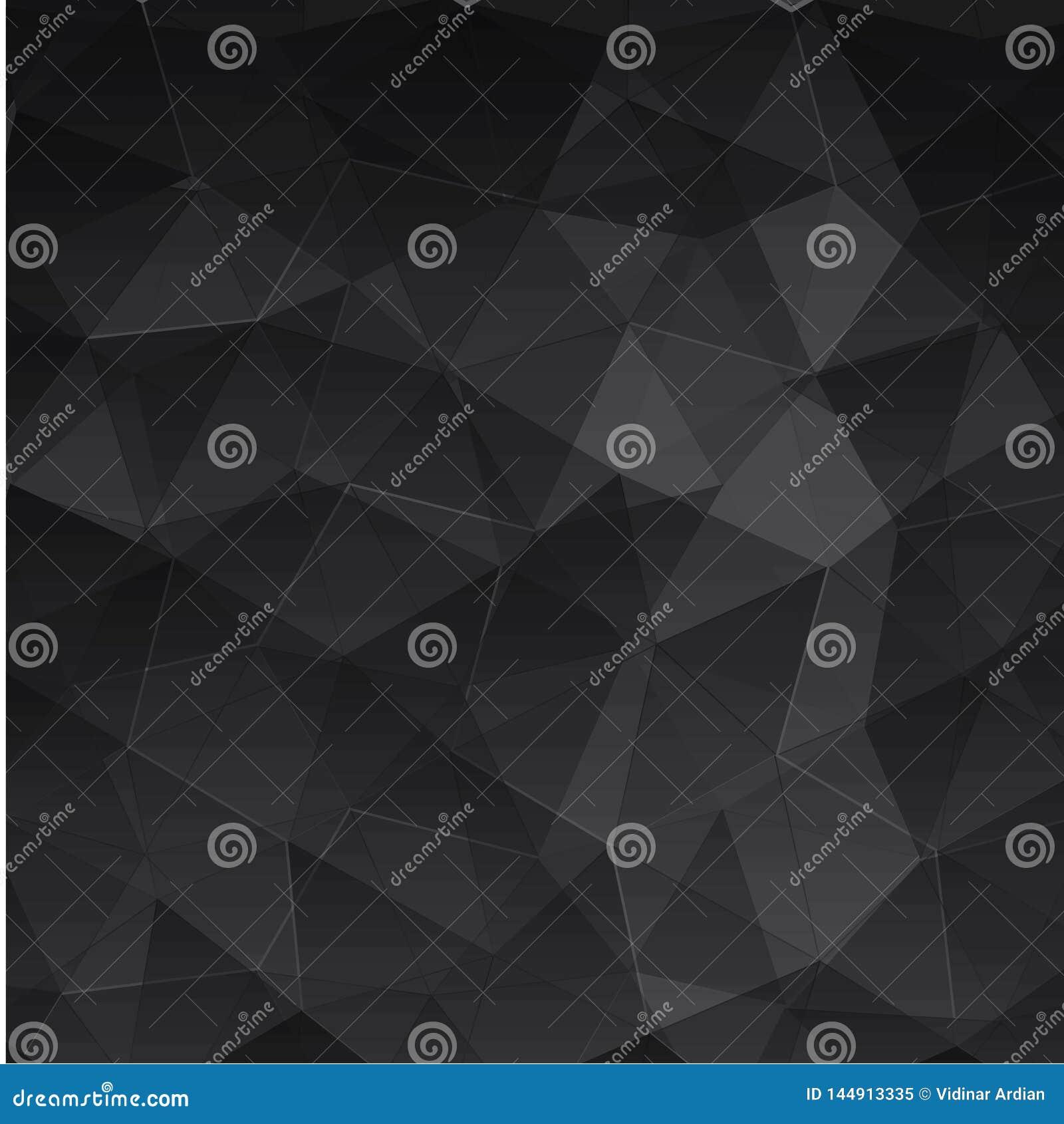 Abstracte geweven veelhoekige achtergrond - Het vector