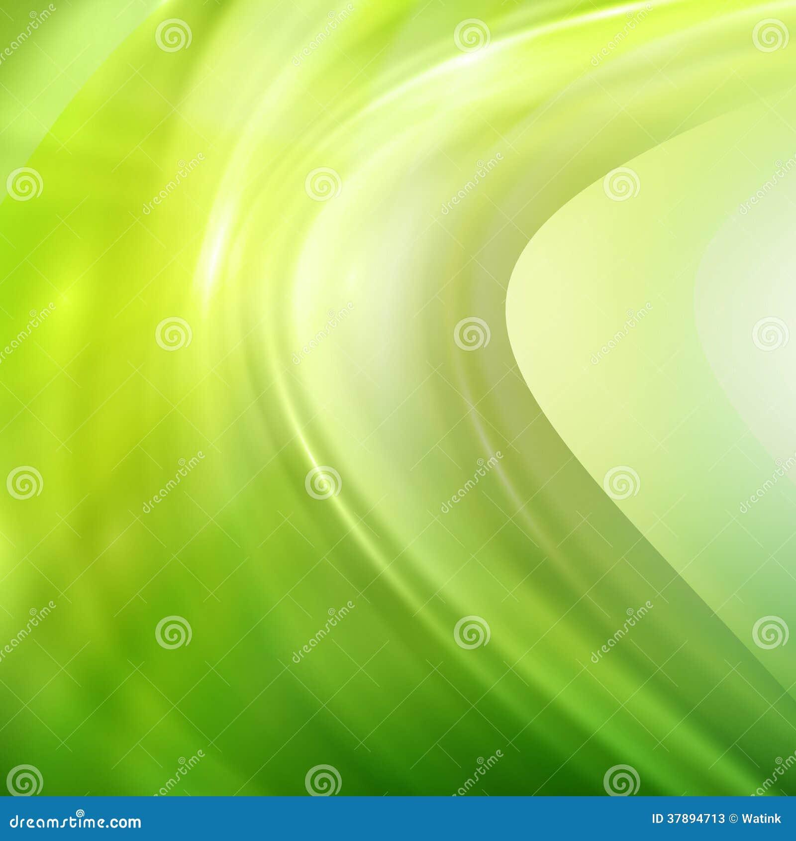 Abstracte gloeiende groene achtergrond