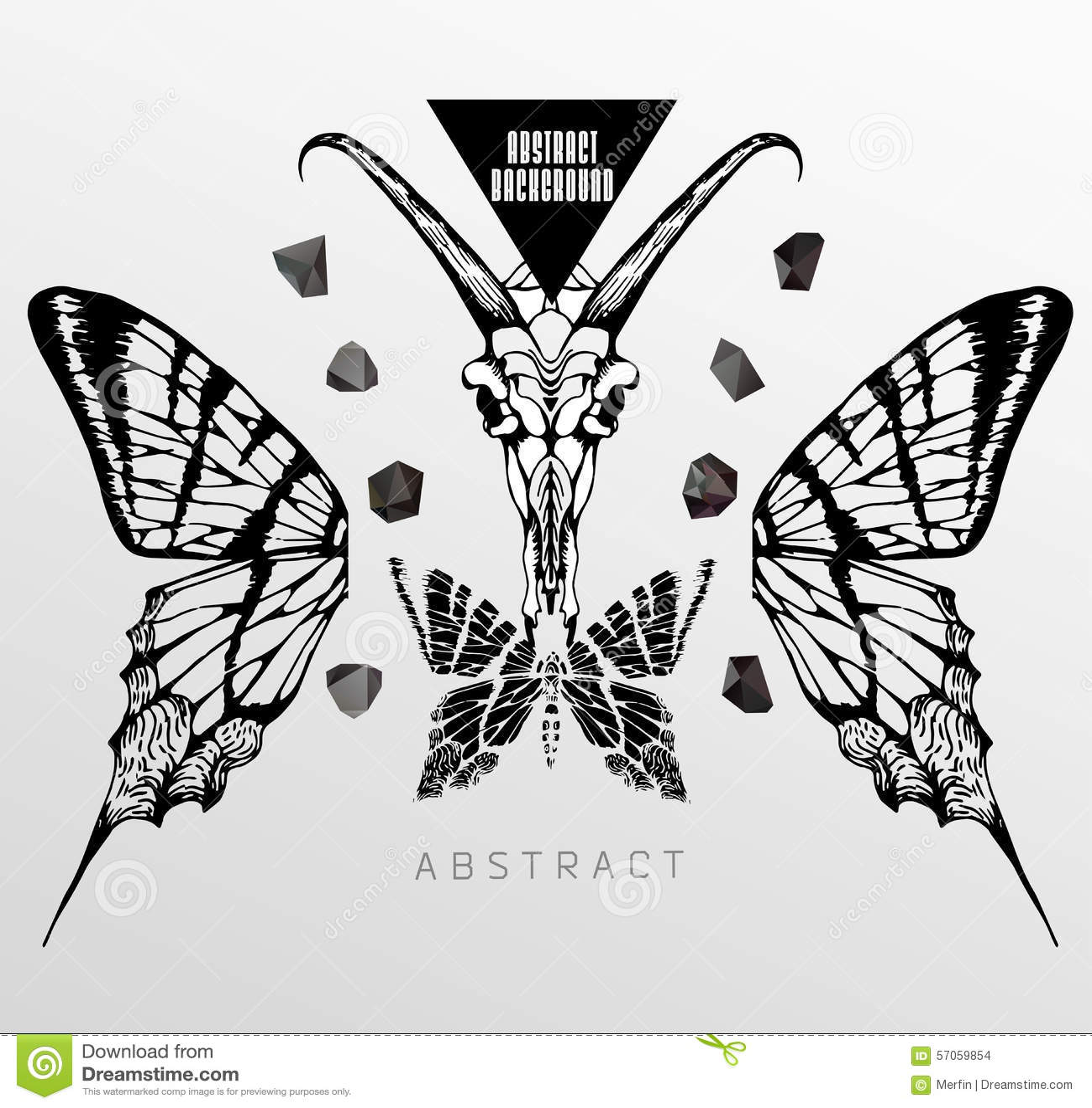 Abstracte gotisch