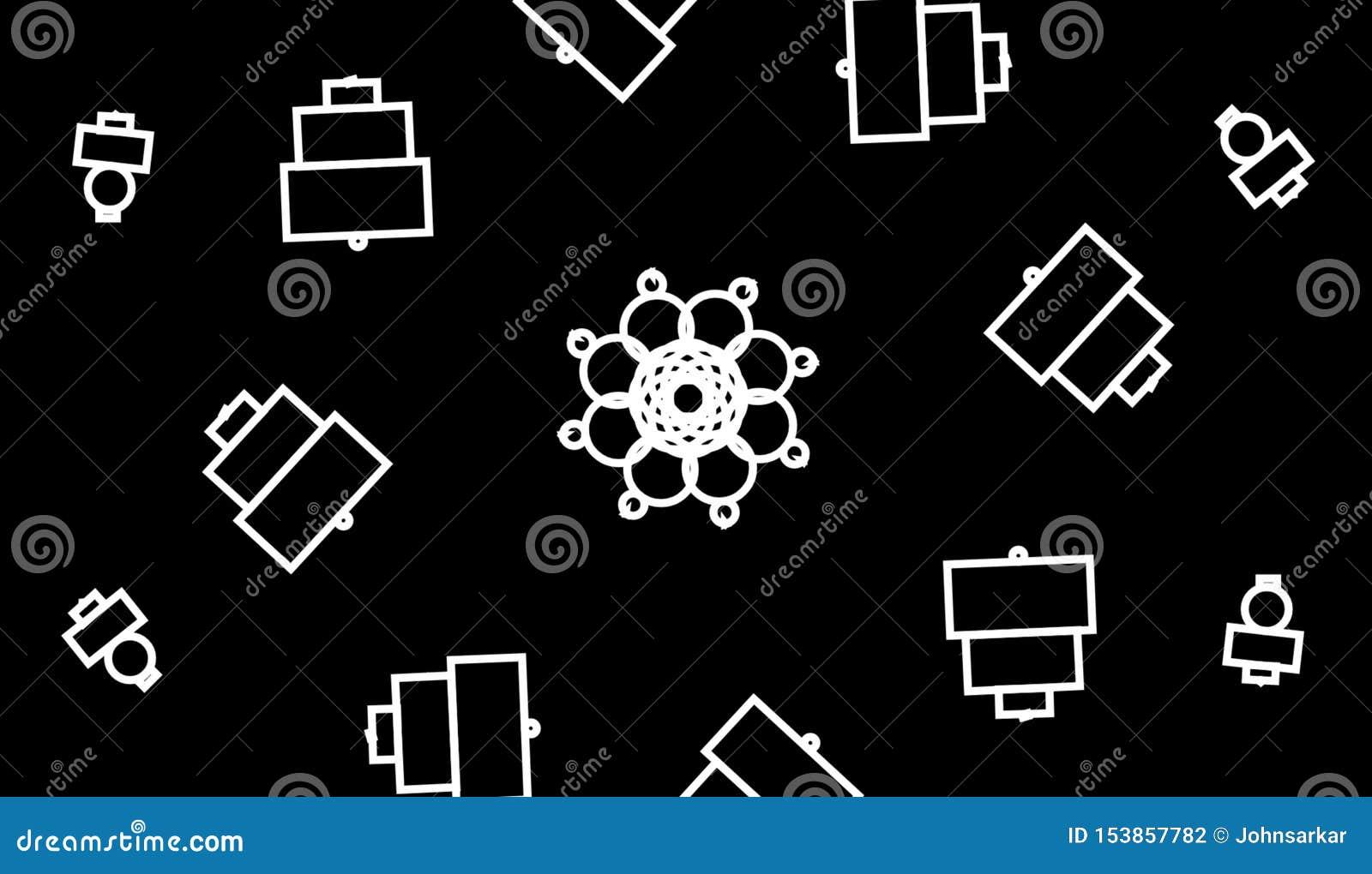 Abstracte grayscale geometrische achtergrond E