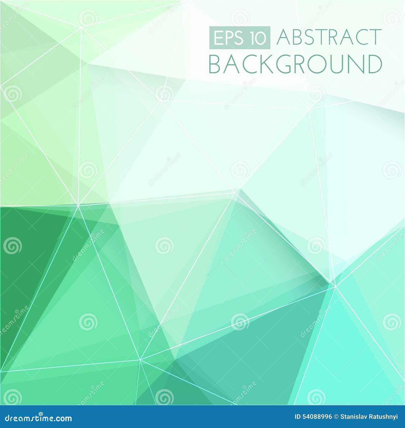 Abstracte groene 3d achtergrond