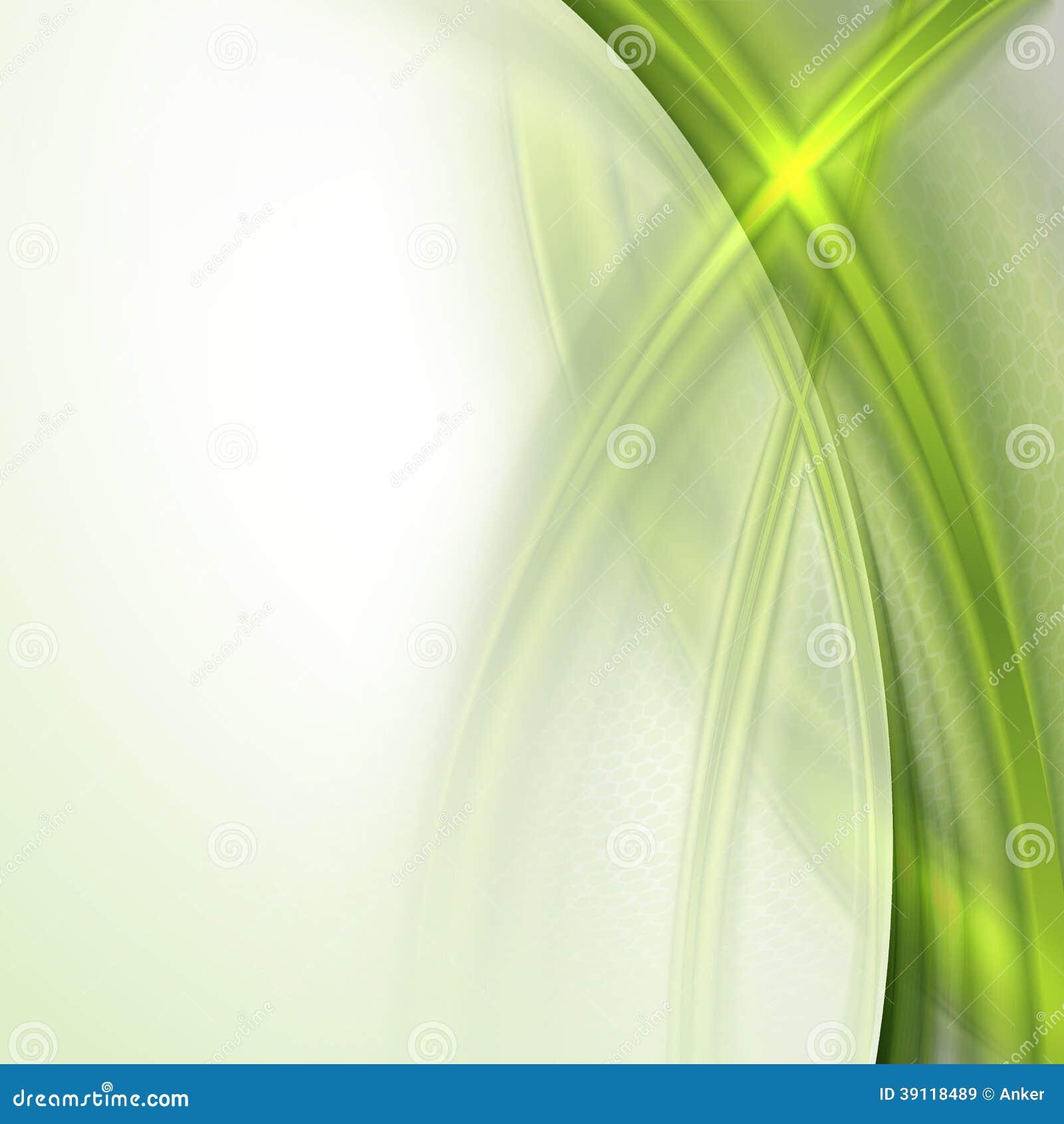 Abstracte groene golvende achtergrond