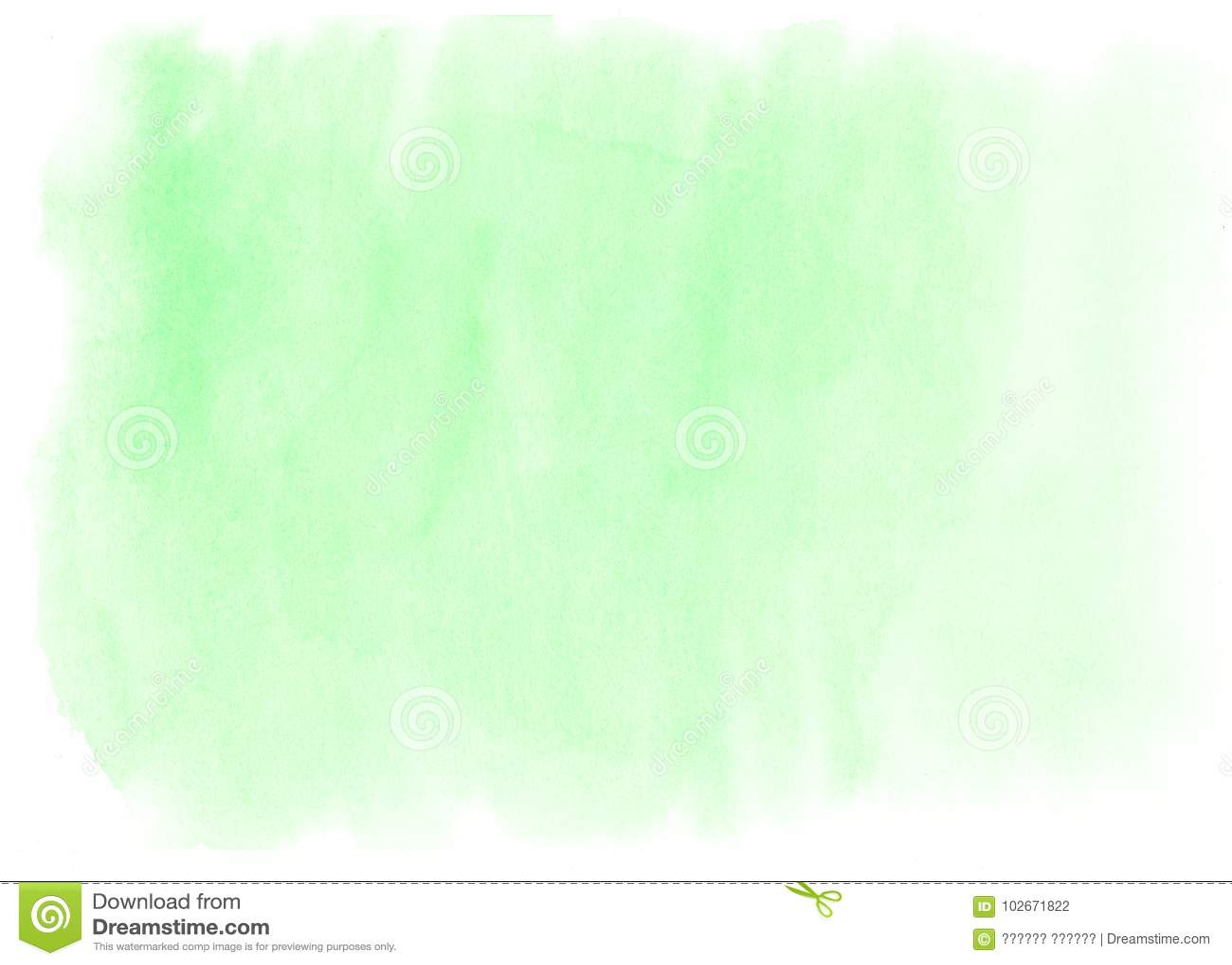 Abstracte groene waterverfachtergrond in hoge resolutie