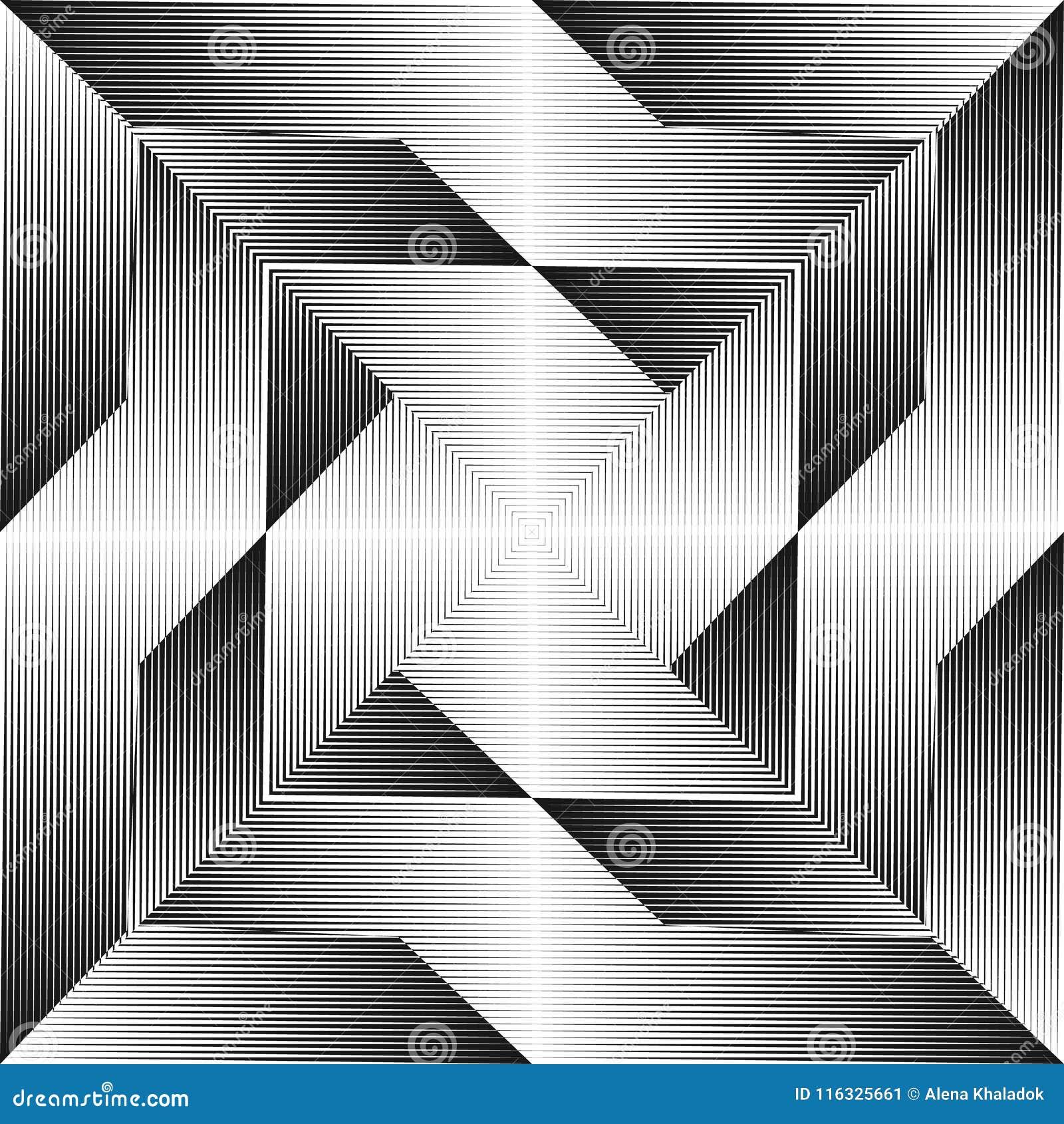Abstracte halftone lijnenachtergrond