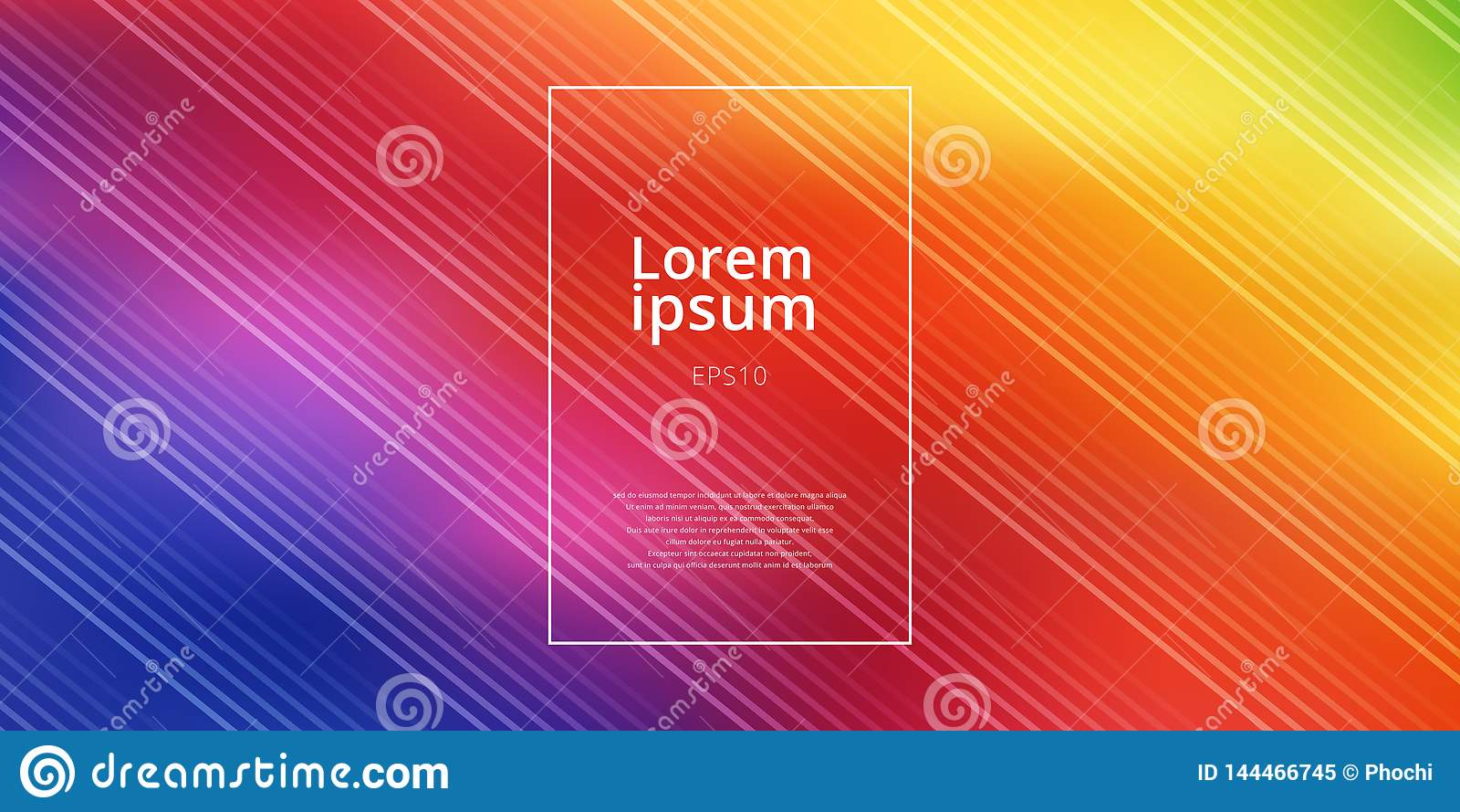 Abstracte heldere de gradiëntnetwerk vage achtergrond van regenboogkleuren met diagonaal lijnenpatroon