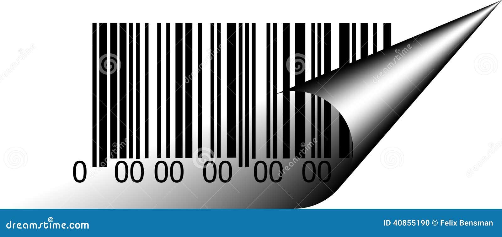 Abstracte het patroonachtergrond van de streepjescodeveiligheid