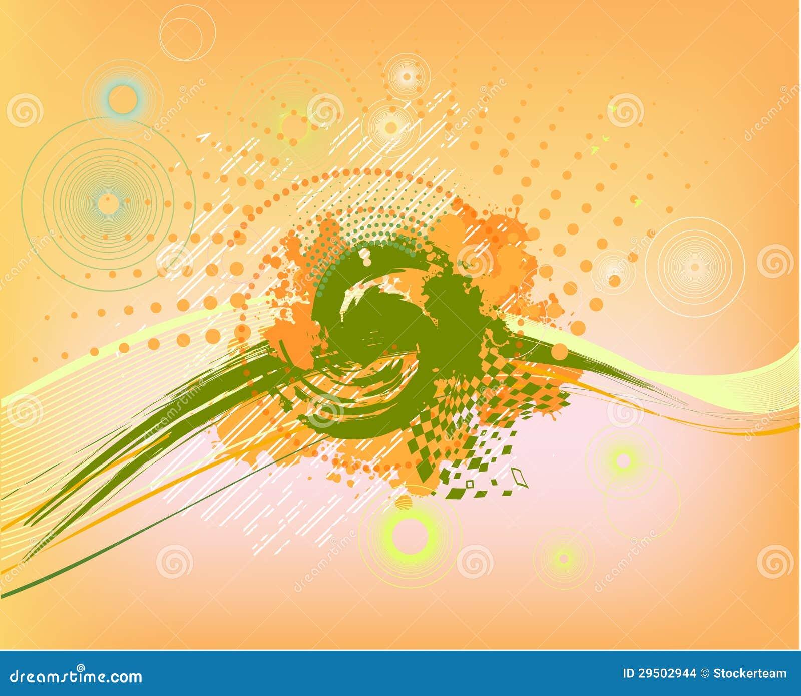 Abstracte kleurrijke achtergrond met punten