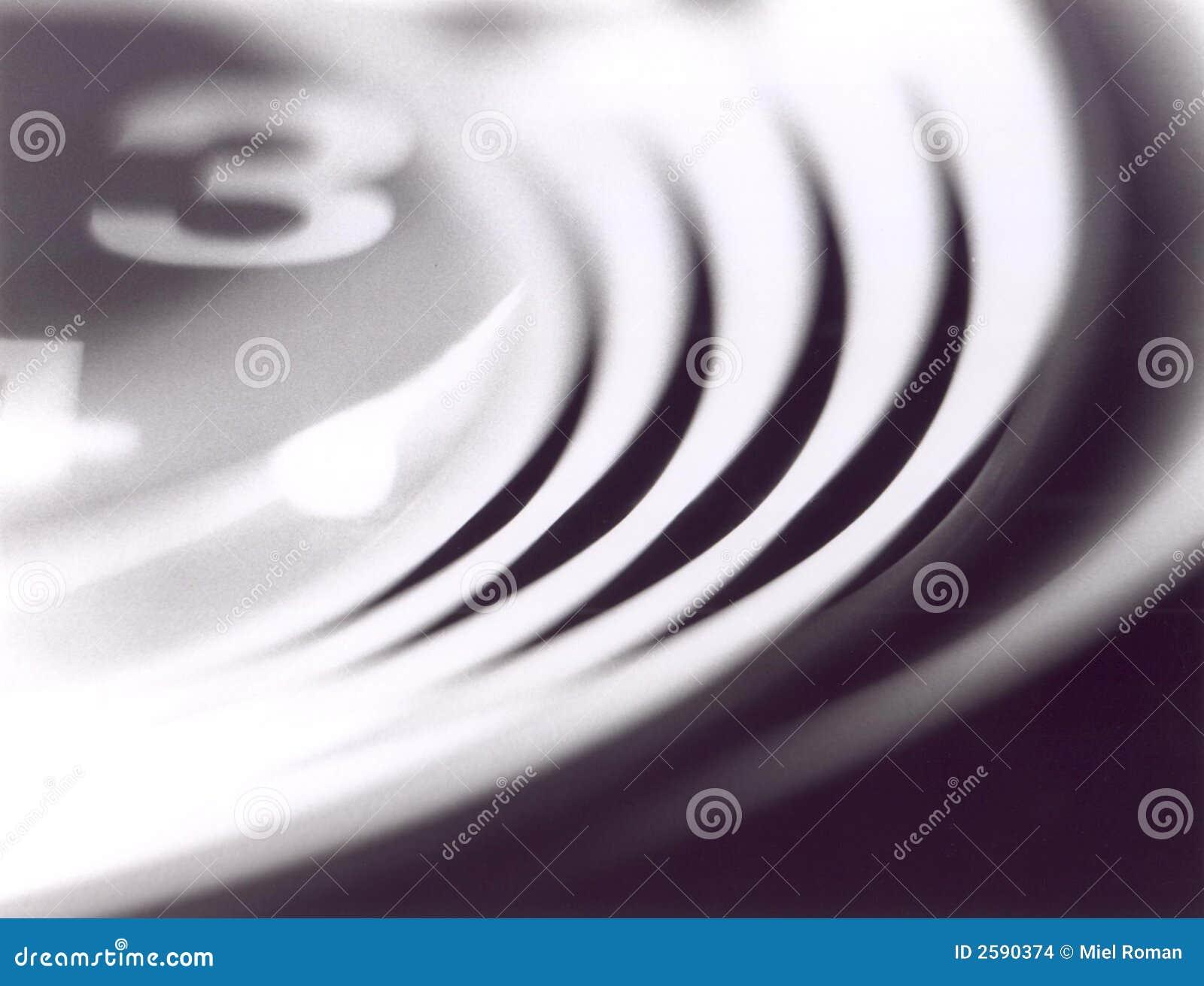 Abstracte klok