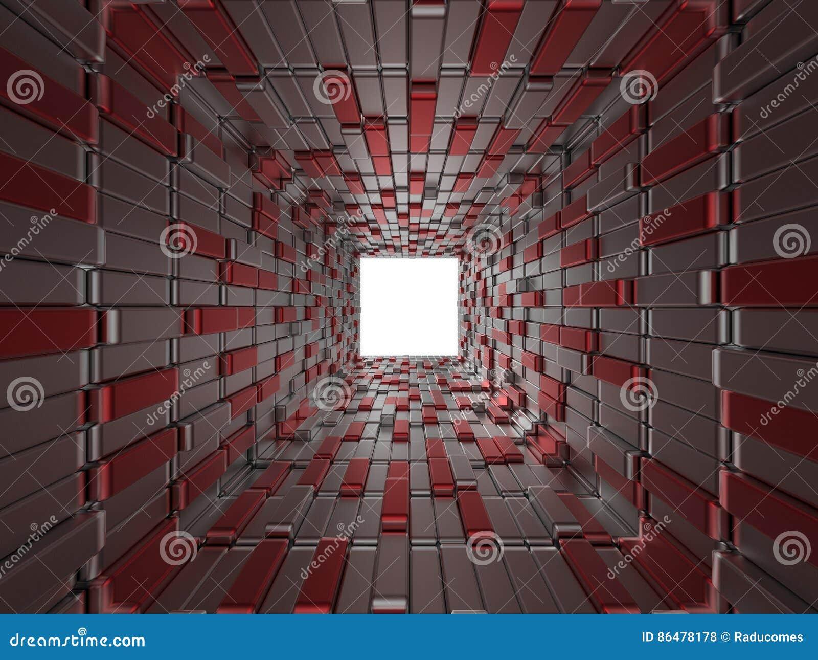 Abstracte kubussenachtergrond