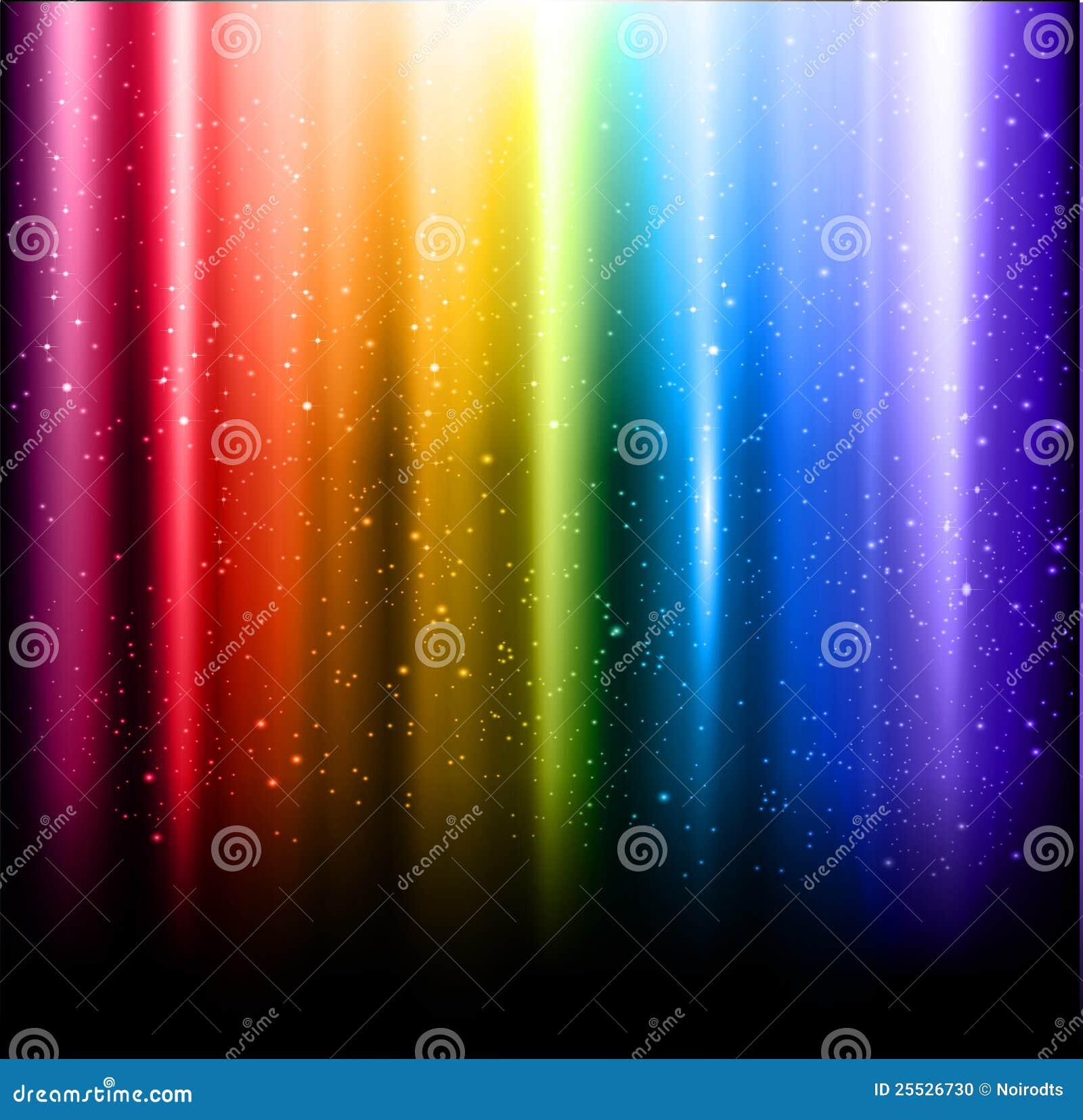 Abstracte regenboogachtergrond