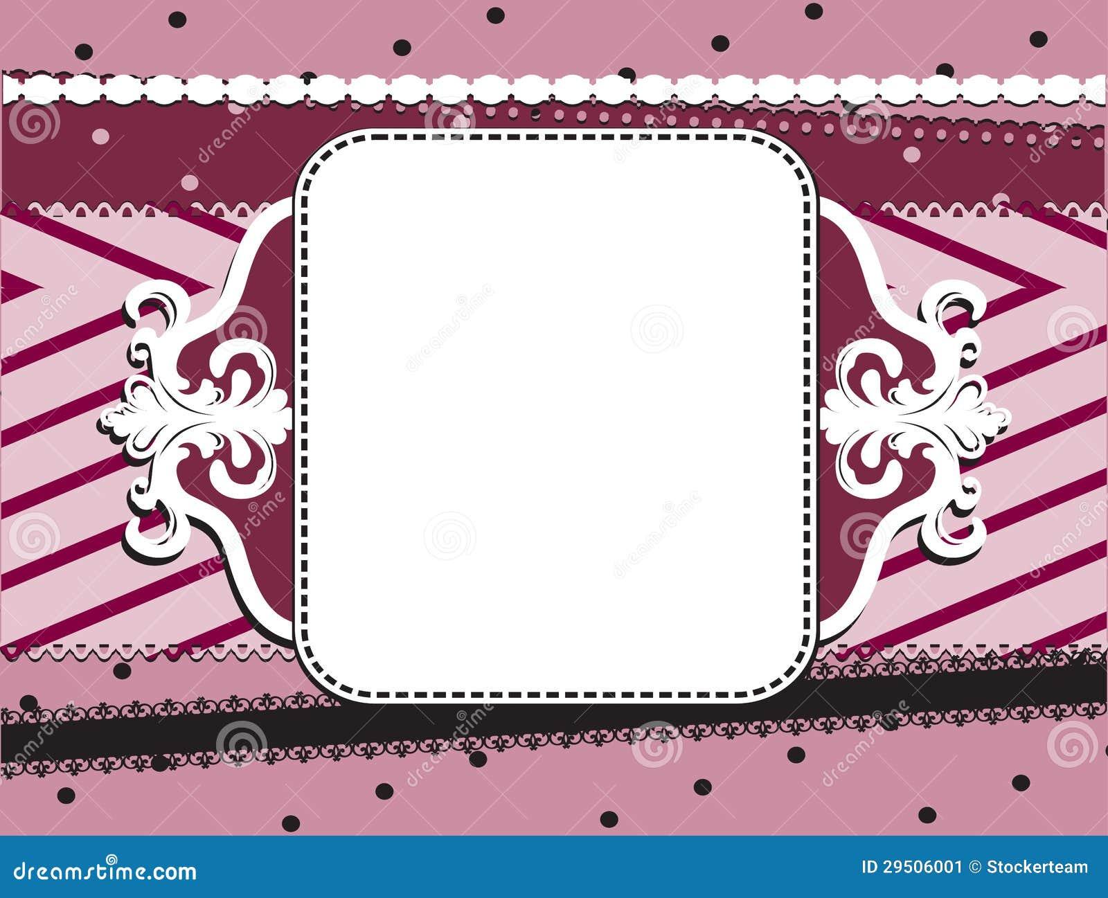 Abstracte rode frame achtergrond met punten