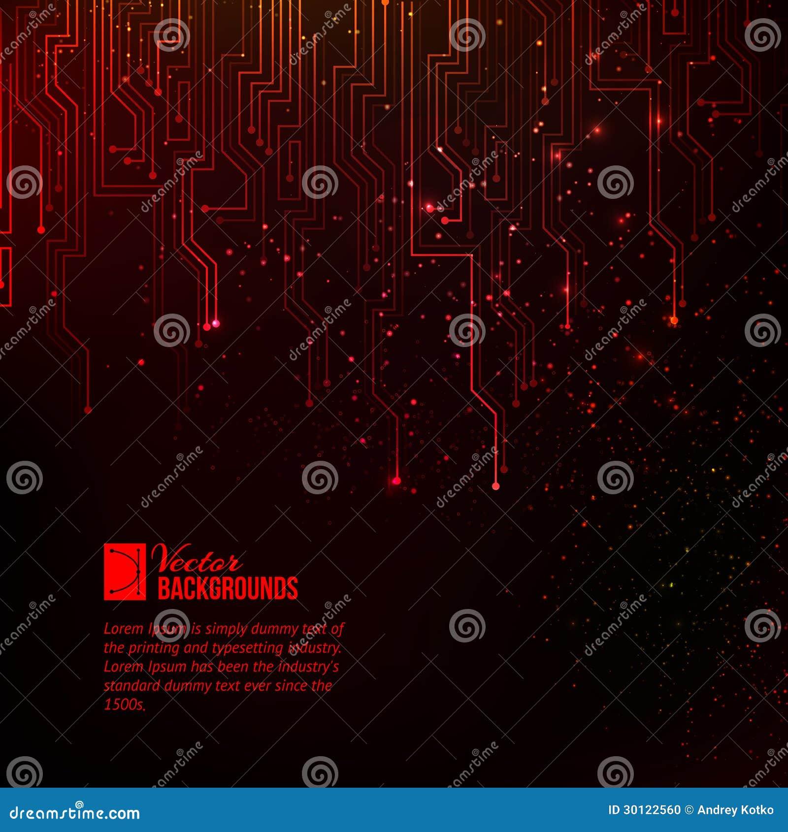 Abstracte rood lichten.