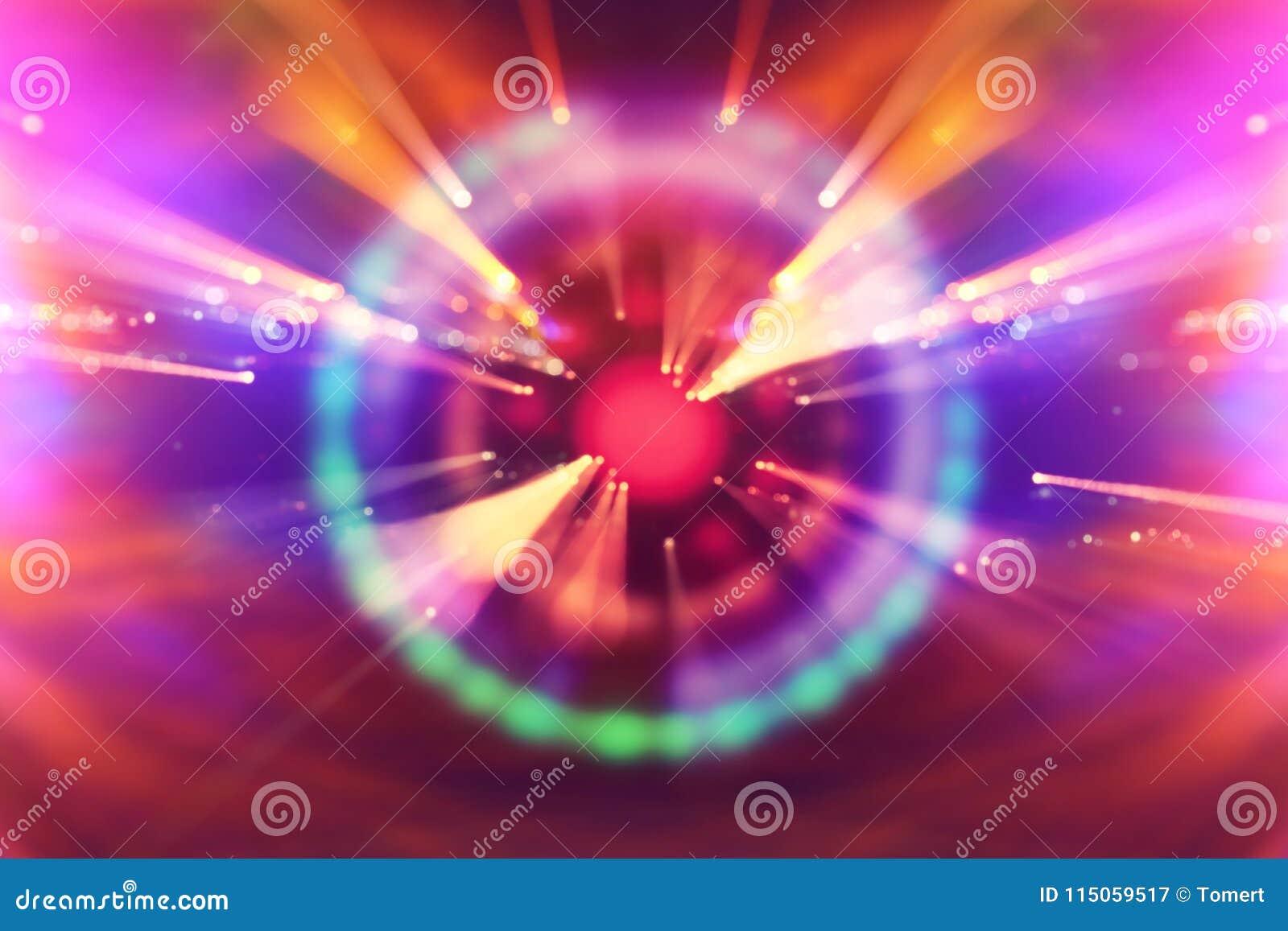 Abstracte science fiction futuristische achtergrond Abstracte verlichtingsachtergronden voor uw ontwerp conceptenbeeld van ruimte