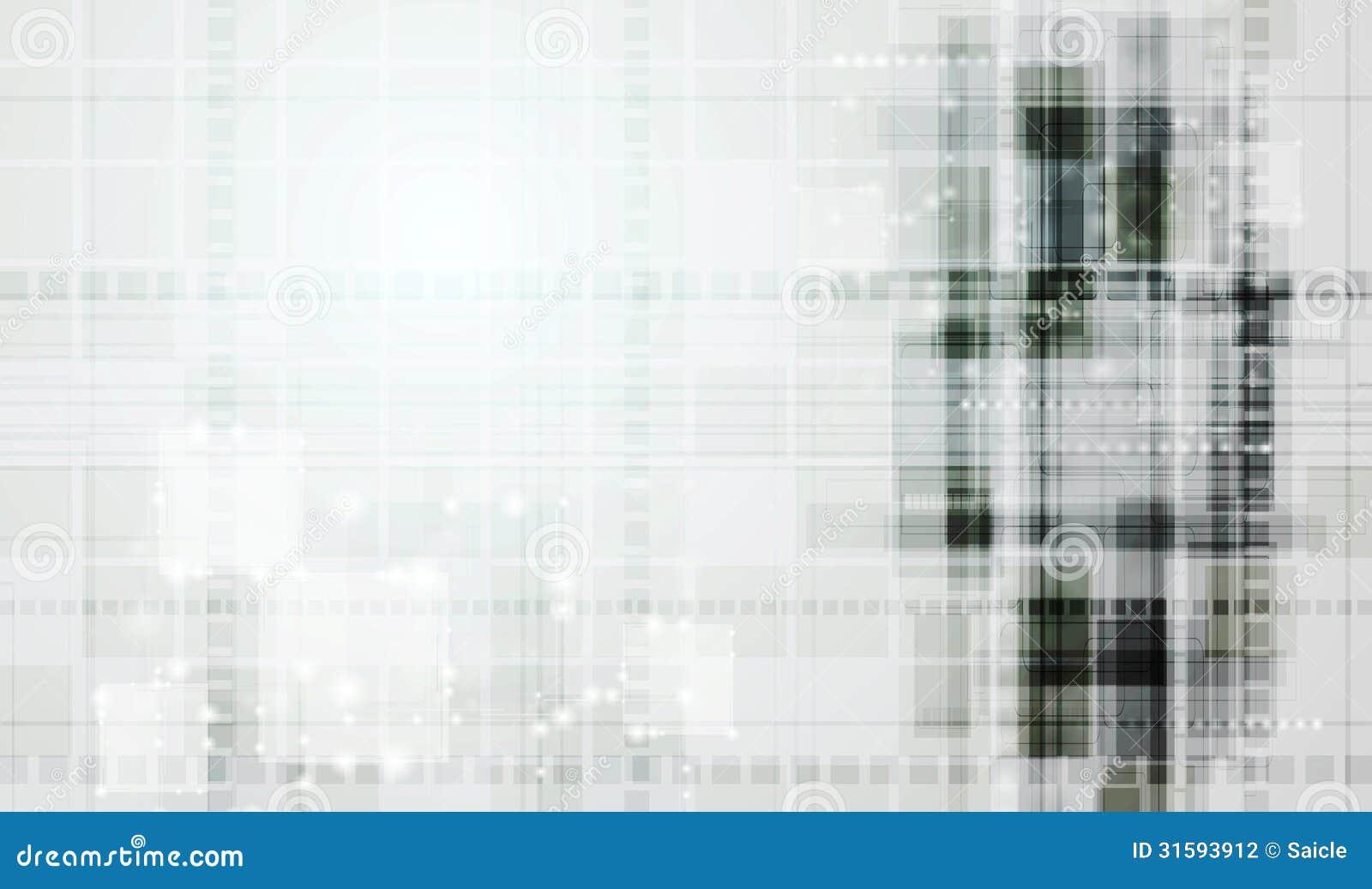 Abstracte technologie vectorachtergrond