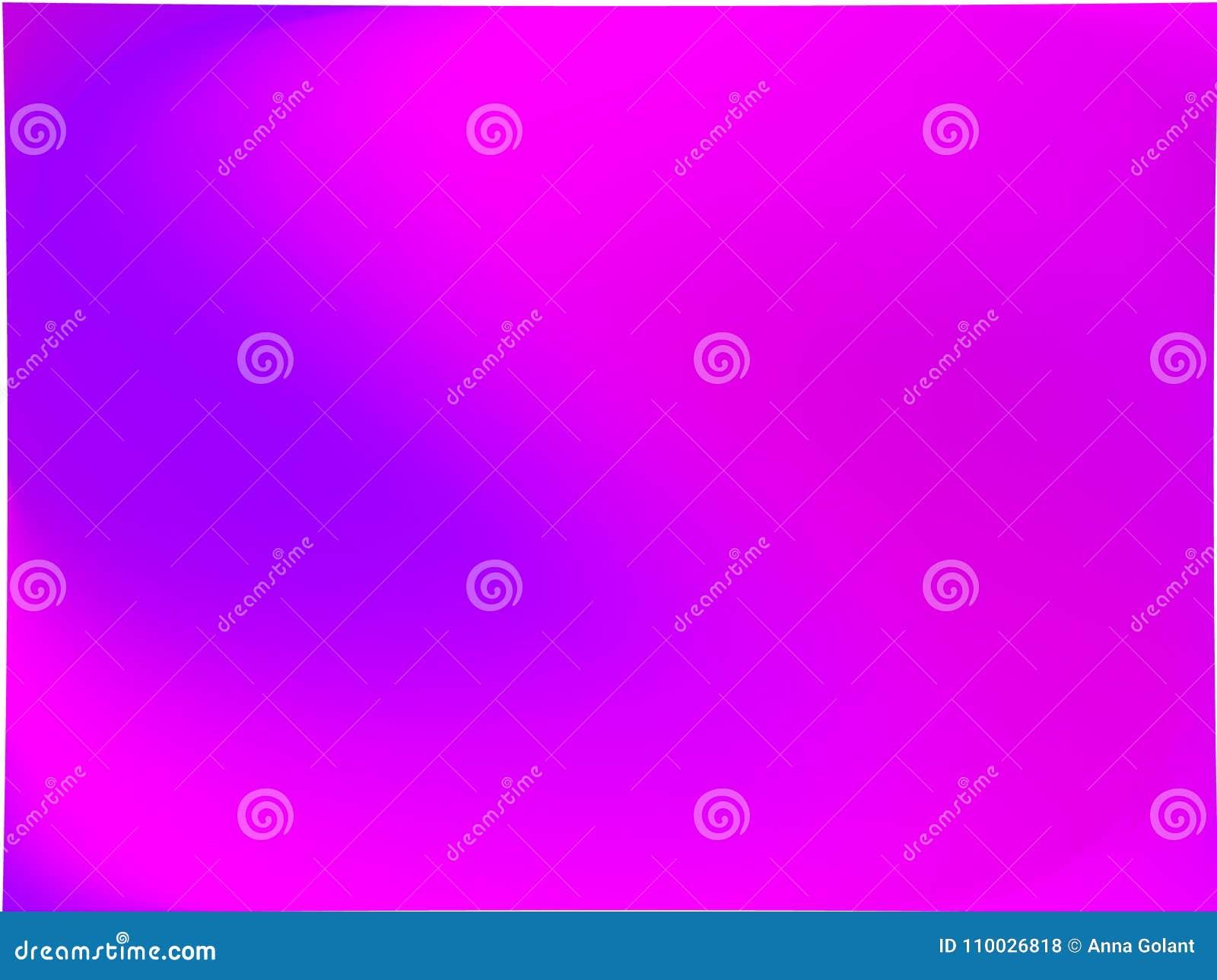 Abstracte ultraviolet vage achtergrond De vlotte kleur van de gradiënttextuur Vector illustratie