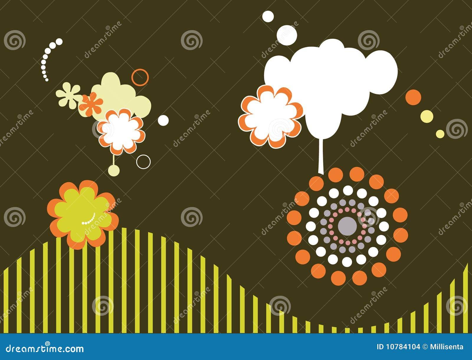 Abstracte vector als achtergrond