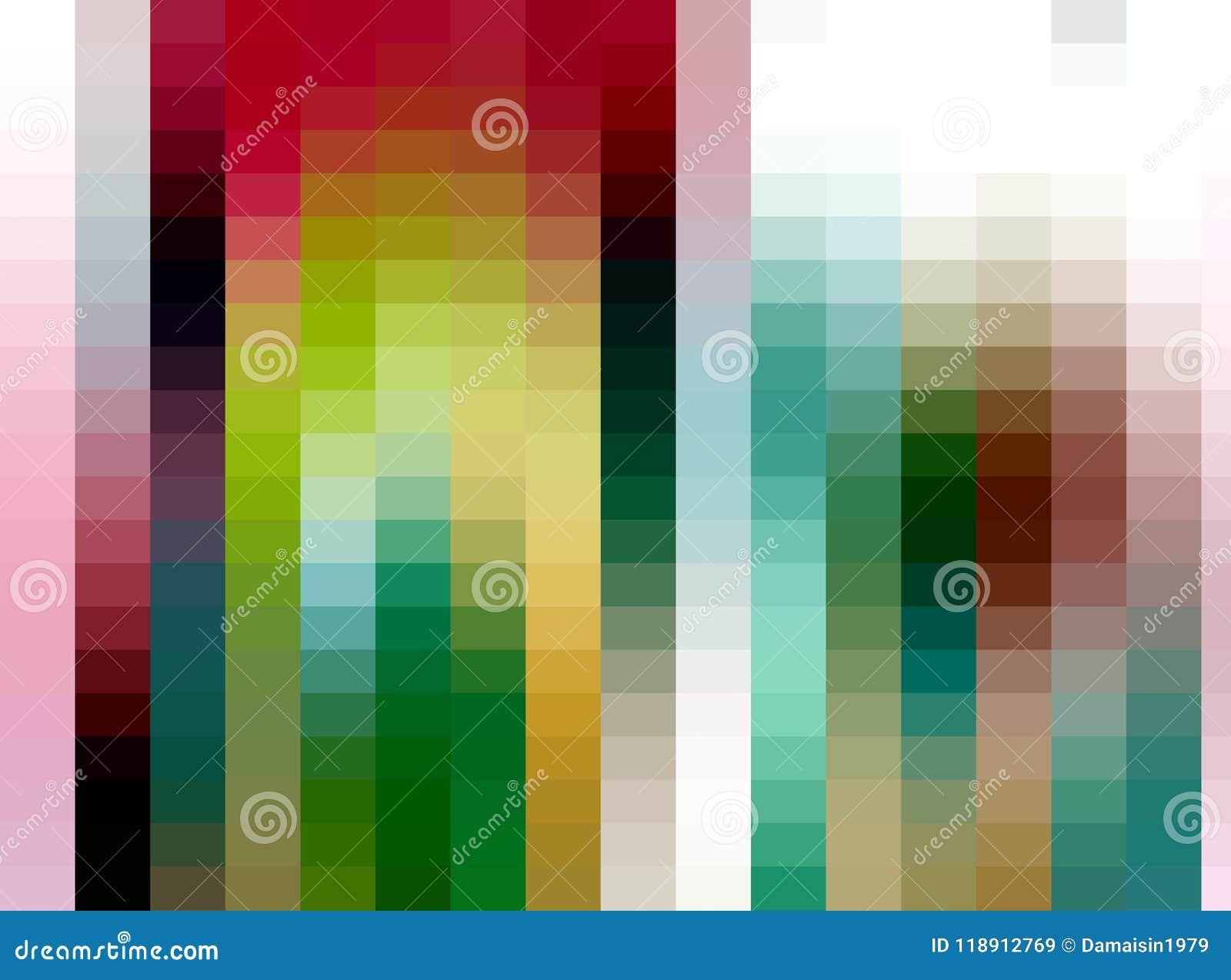 Abstracte vierkante achtergrond, kleuren, schaduwen, grafiek