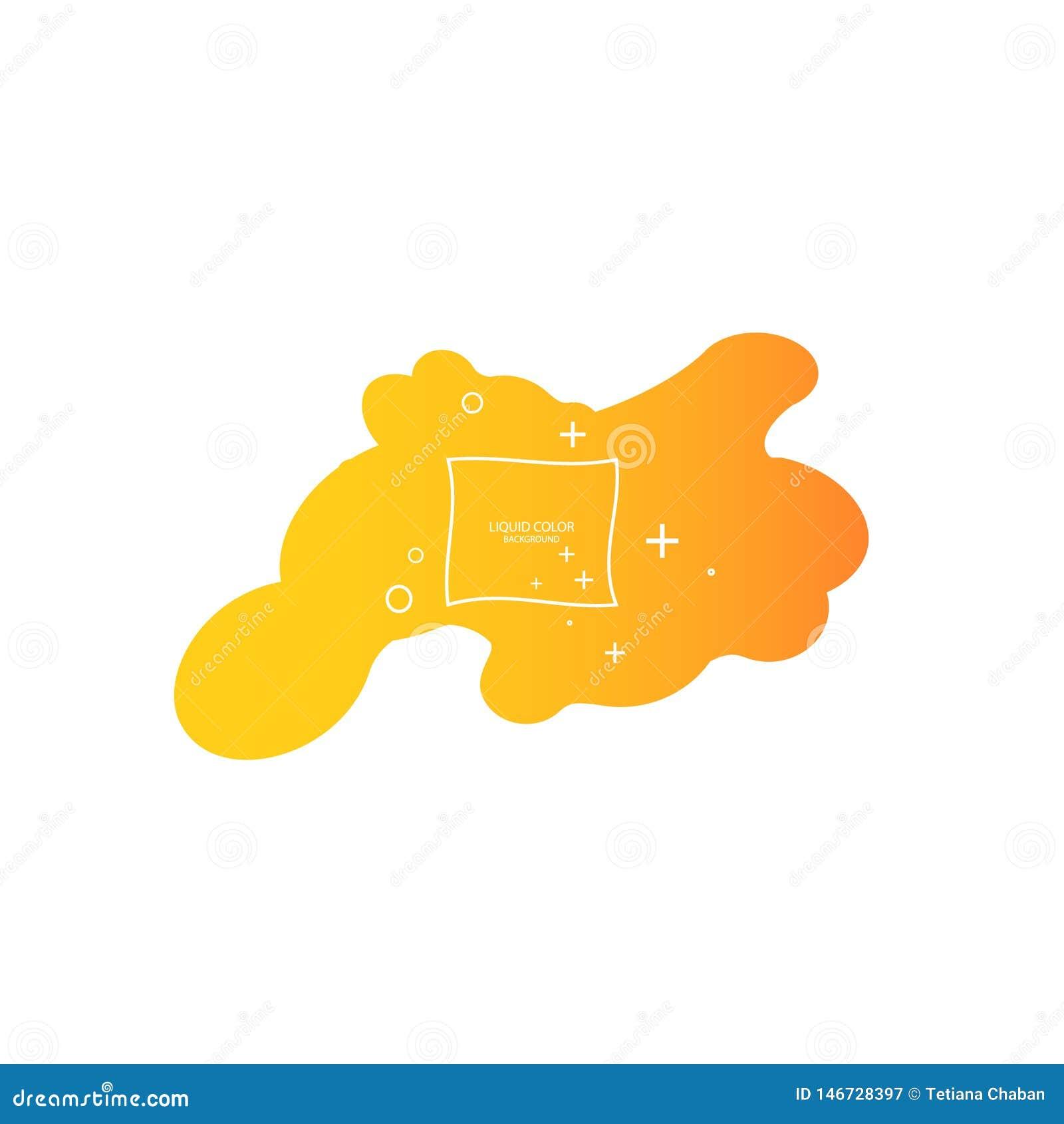 Abstracte vorm van vloeistof Vloeibaar ontwerp Vloeibare dynamische achtergrond voor websites, landingspagina of bedrijfspresenta