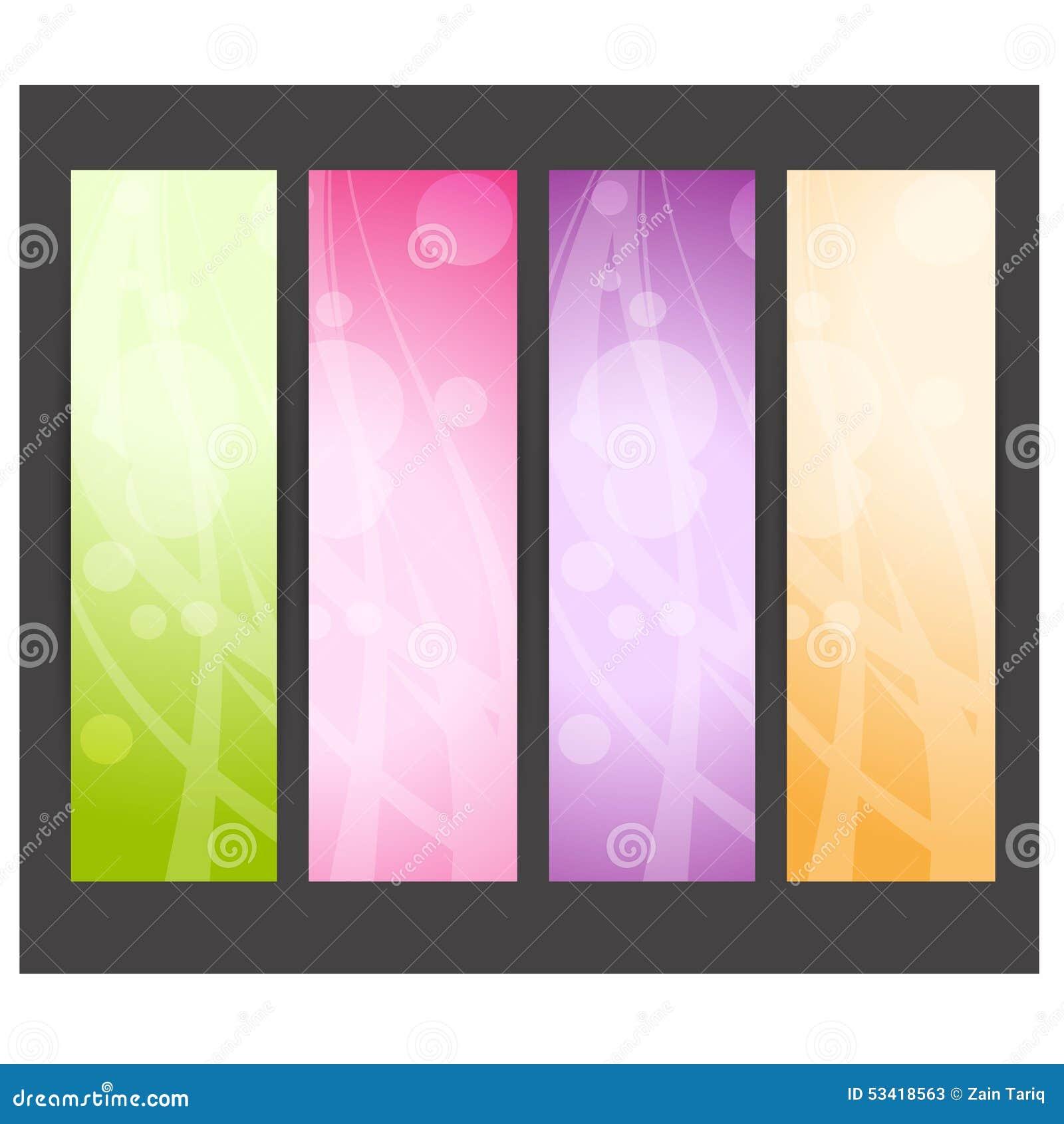 Abstracte websitekopbal of banner Vector