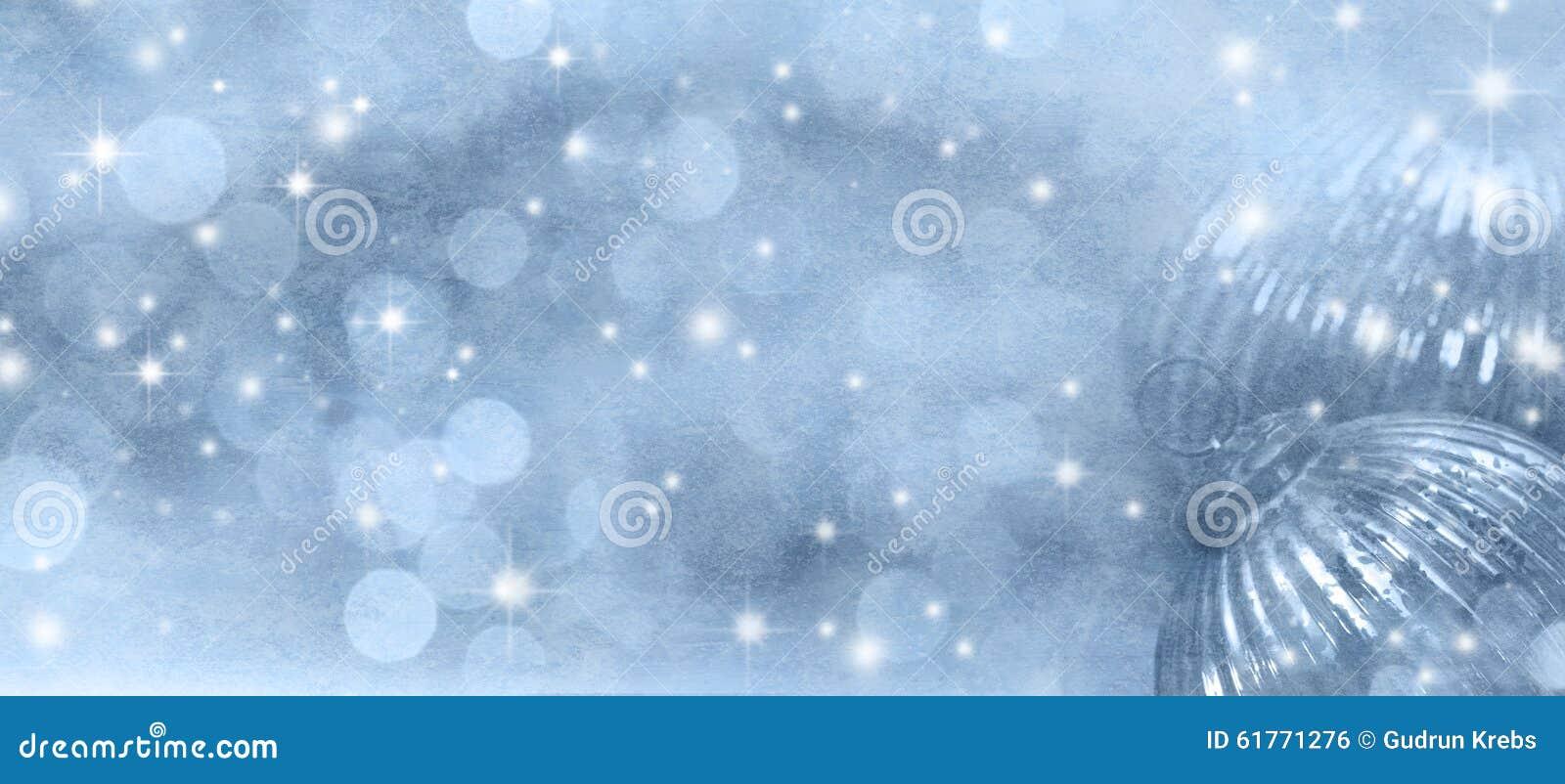 Abstracte wintertijd als achtergrond