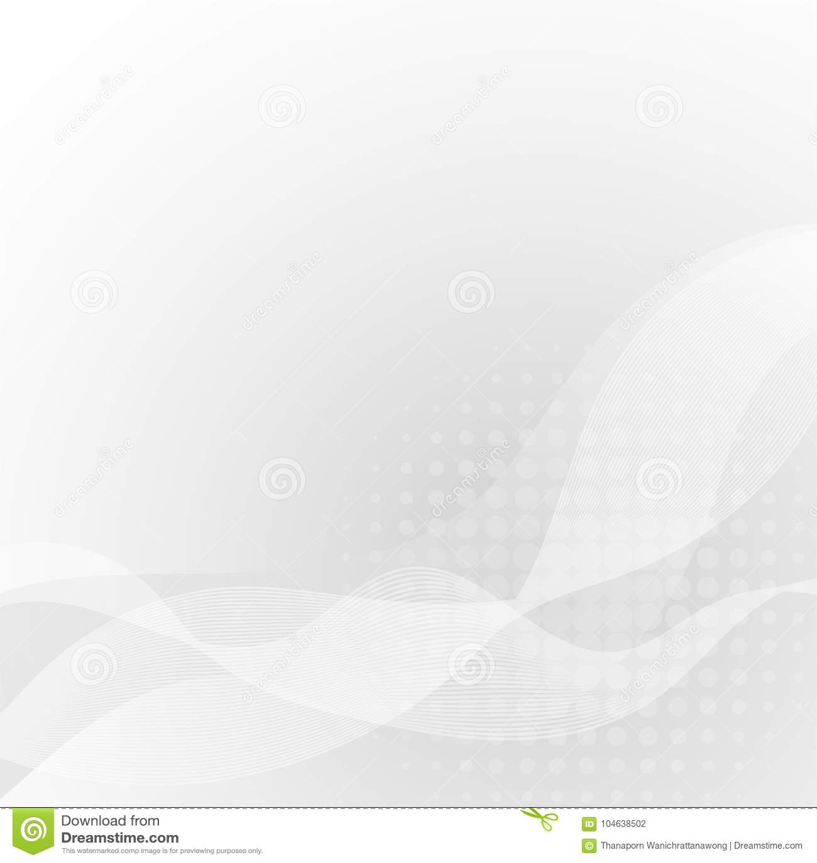 Download Abstracte Witte Kromme Op Grijze Achtergrond Met Zachte Licht En Halftone Vector Illustratie - Illustratie bestaande uit overlapping, gradiënt: 104638502