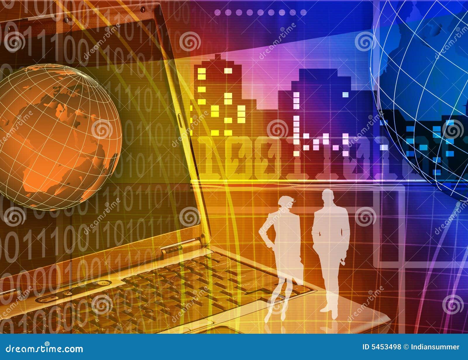 Abstracte zaken en de achtergrond van IT