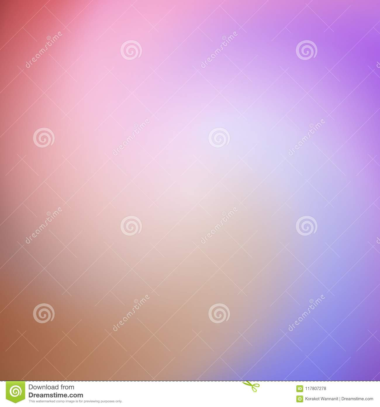 Abstraction of colorful rainbow color background vector.