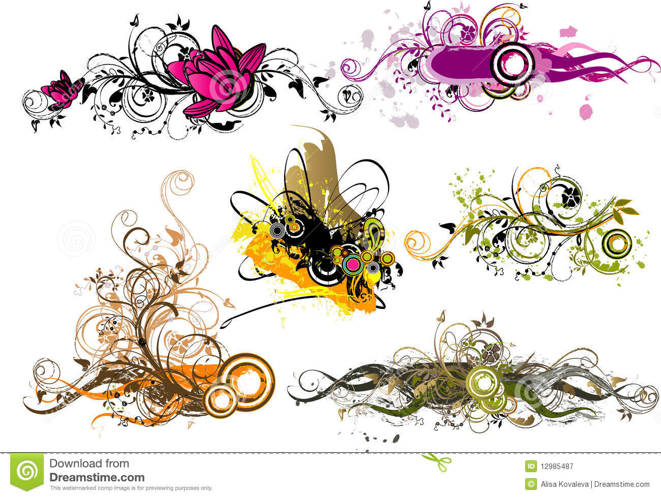 Abstractions Royalty Free Stock Photography - Image: 12985487