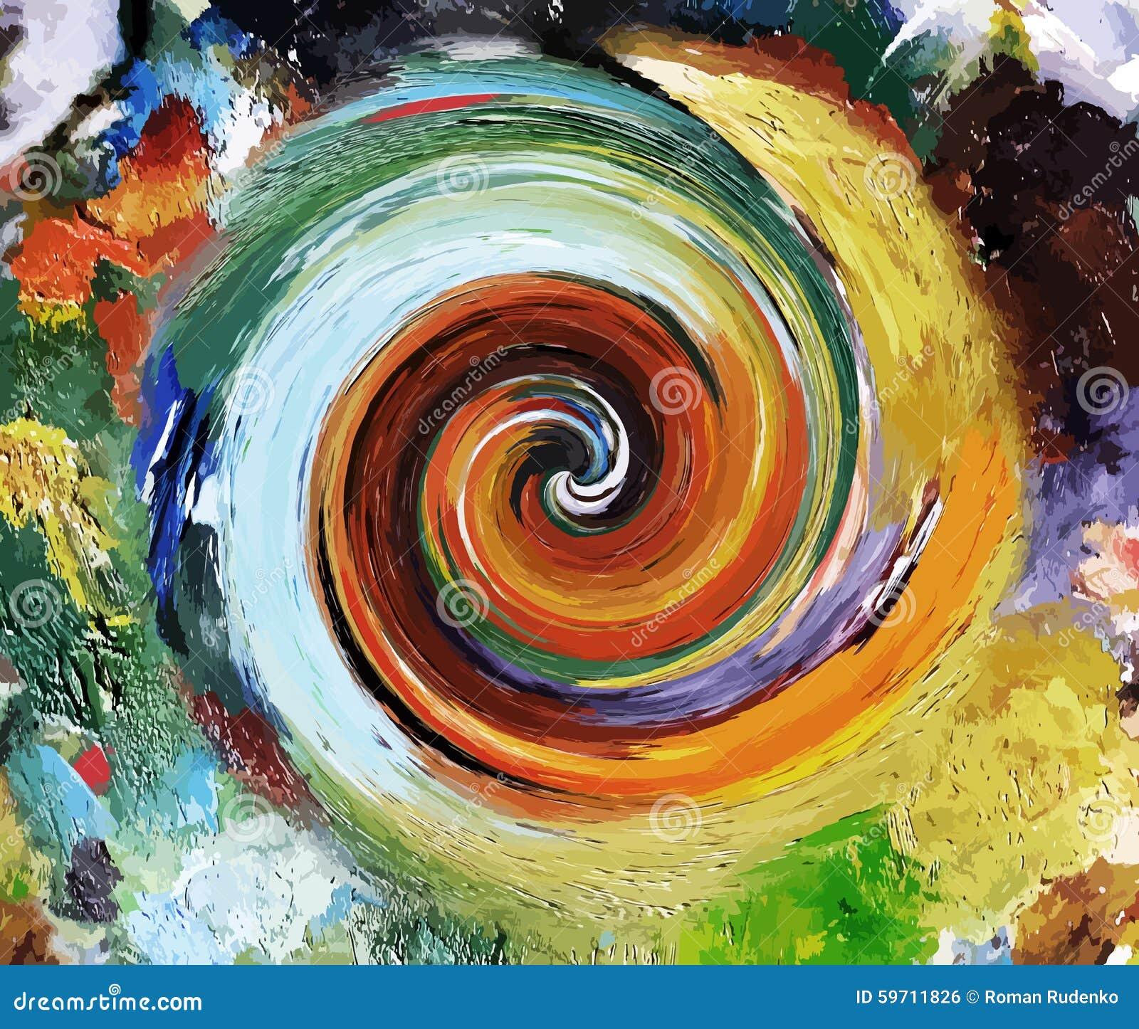 Abstracto pinturas pintura colorida del aceite este - Pintura al aceite ...