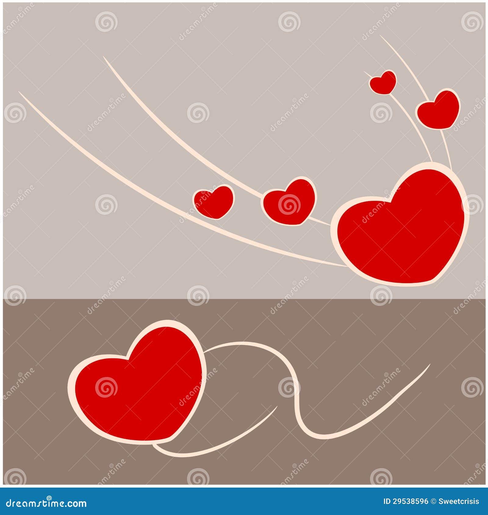 Abstraia o amor e o coração