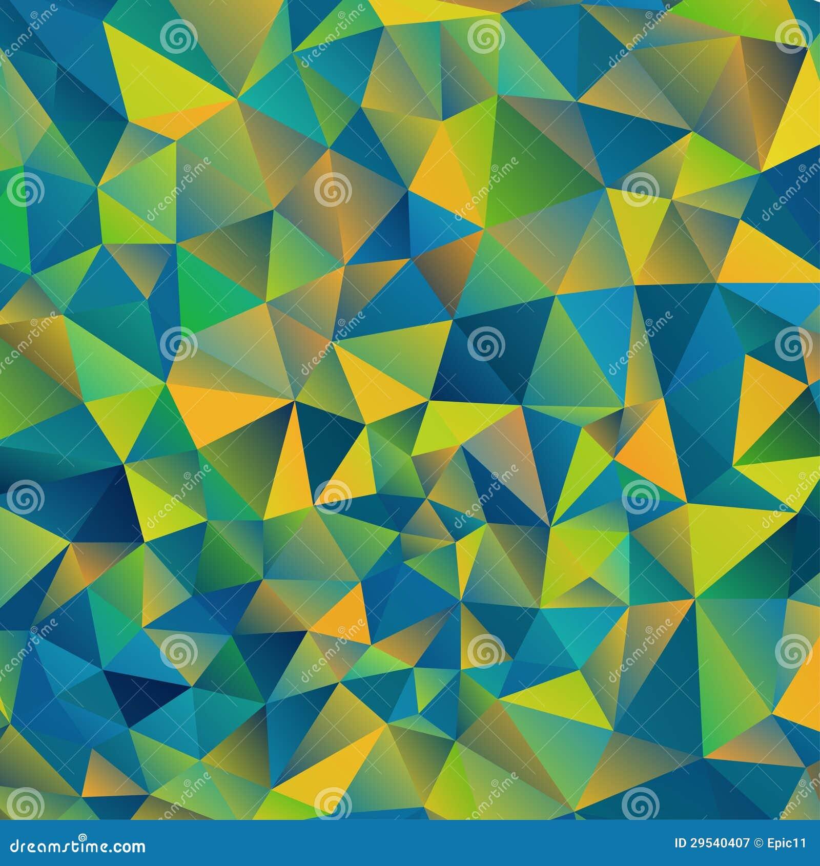 Abstraia o fundo do triângulo