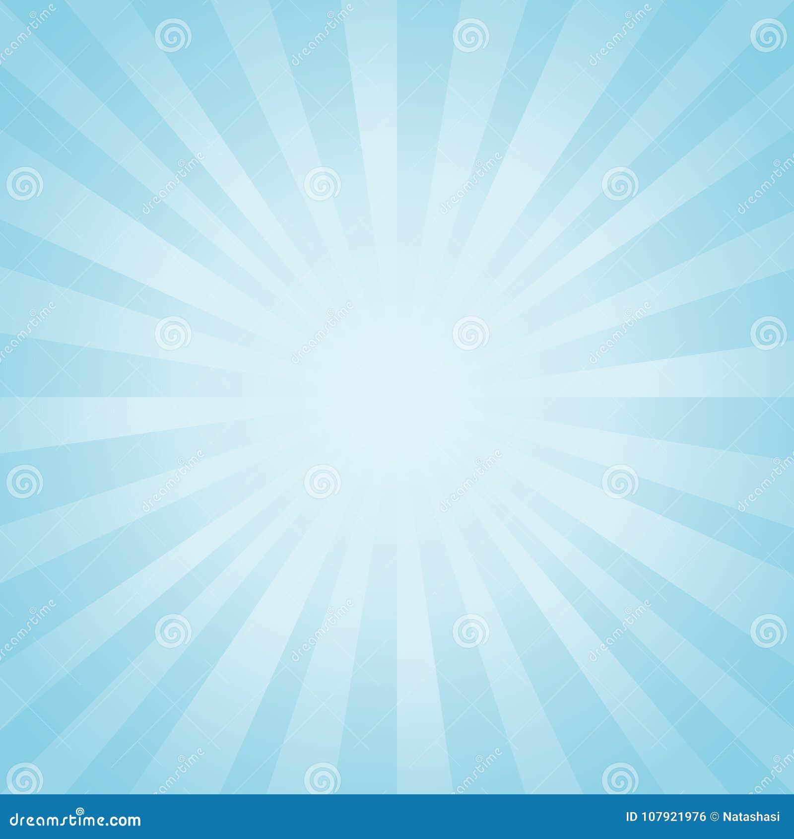 Abstraia o fundo Luz suave - o azul irradia o fundo Cmyk do EPS 10 do vetor