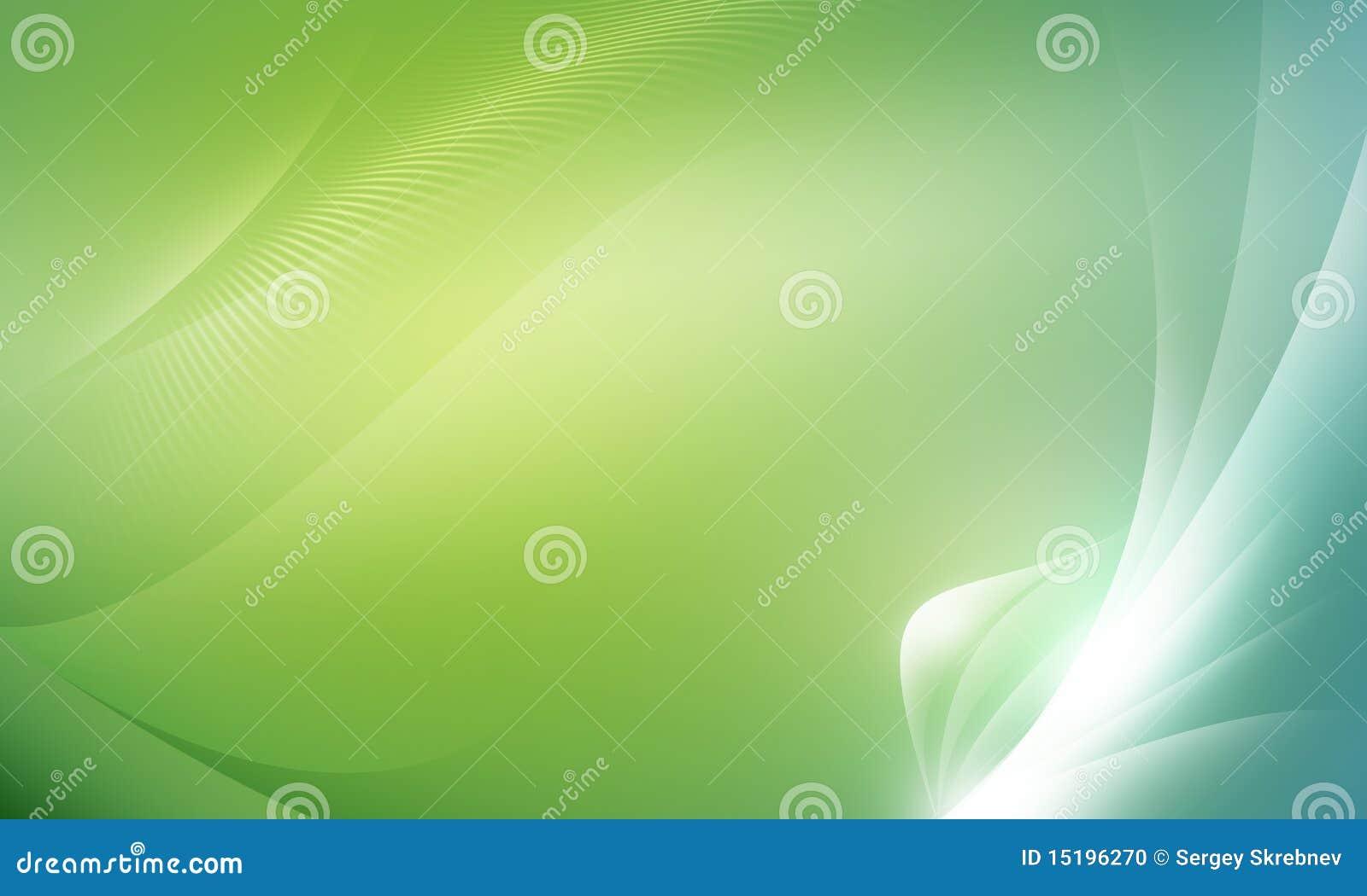 Abstraia o verde do fundo