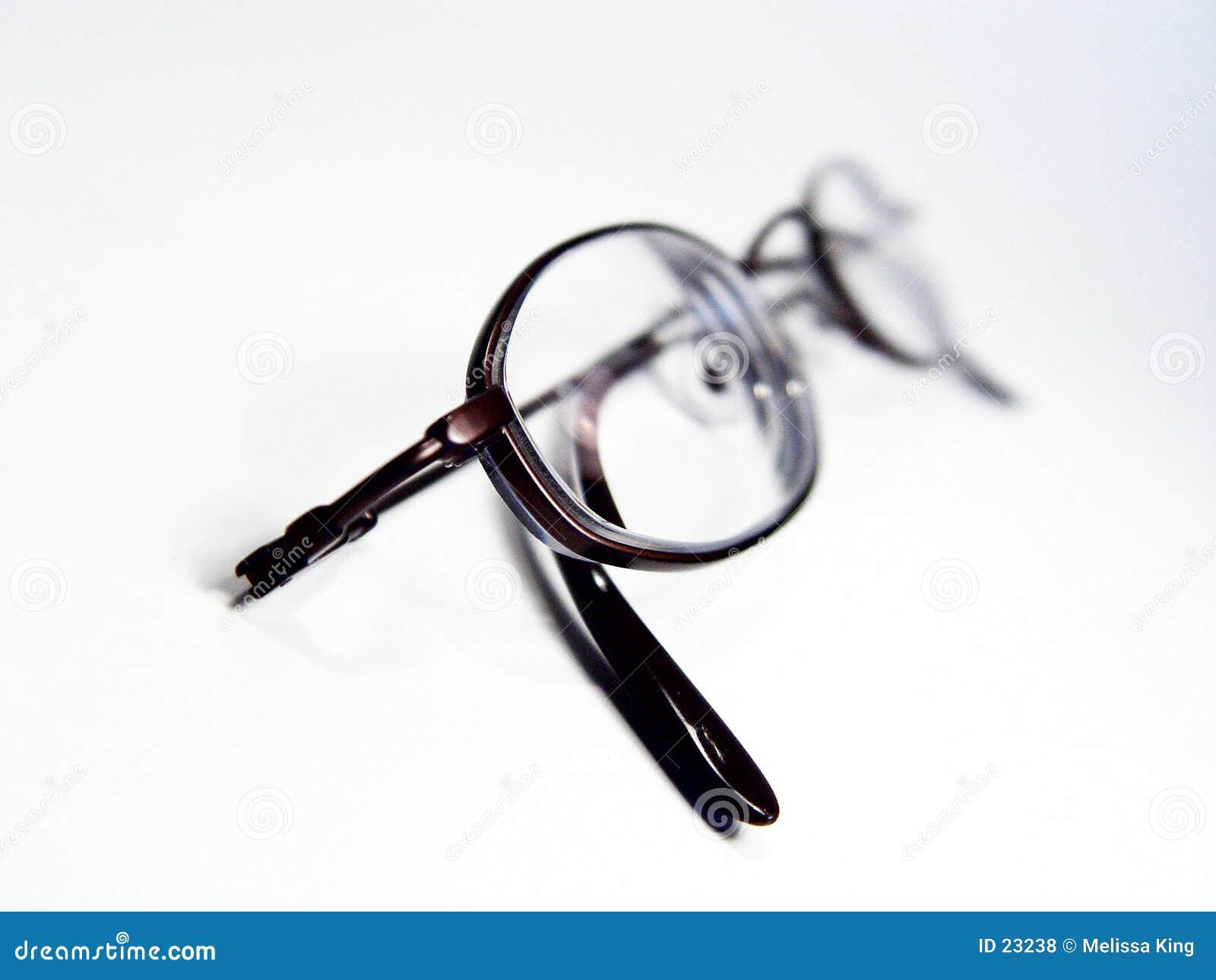 Abstraiga los vidrios de lectura