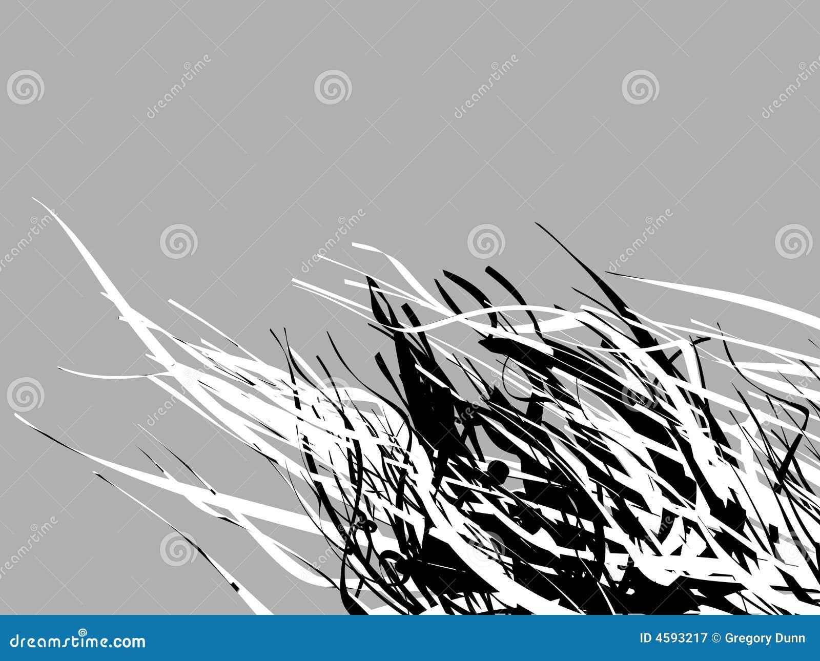 Exceptionnel Abstrait Noir Et Blanc #5: Abstrait Blanc Fond Noir ...