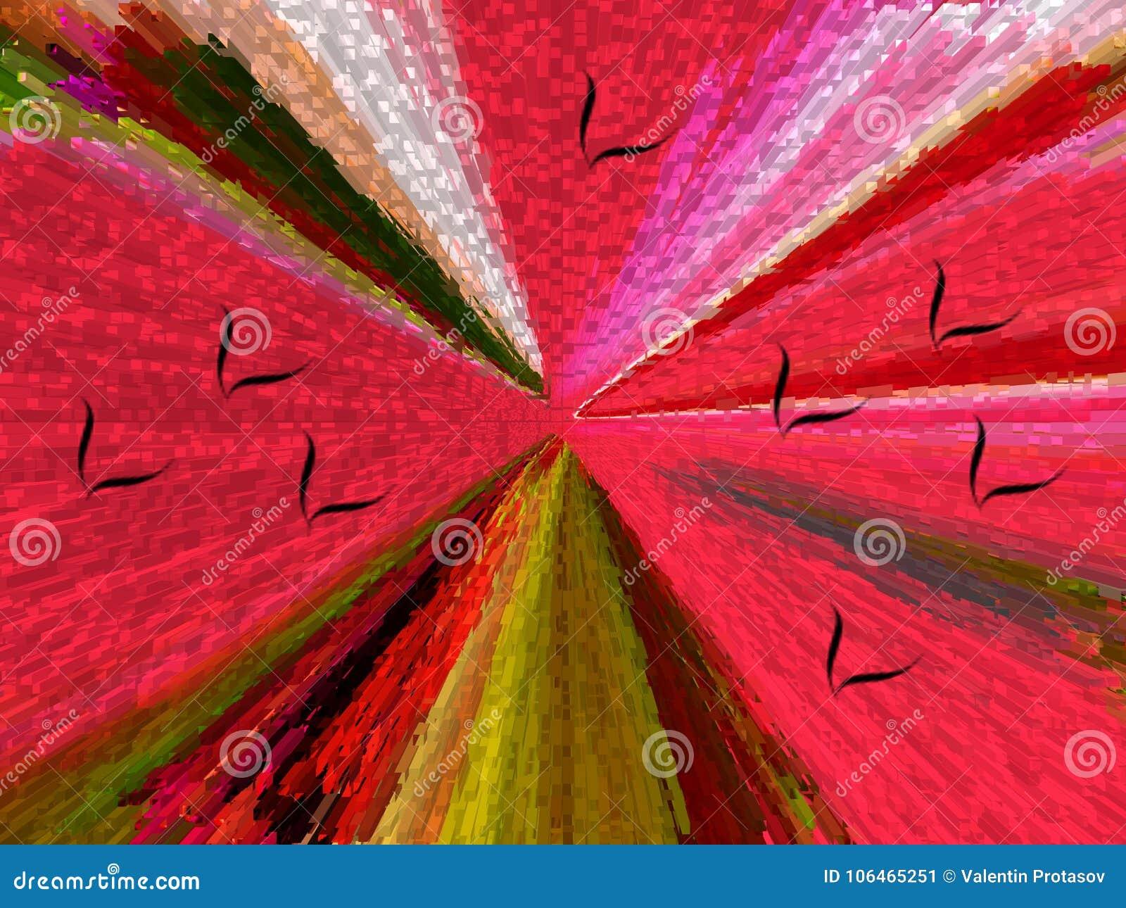 Abstrakcja Abstrakt obraz obrazek struktura _ jedyność abstrakcje abstrakty tekstury kolorowy kolory Grap