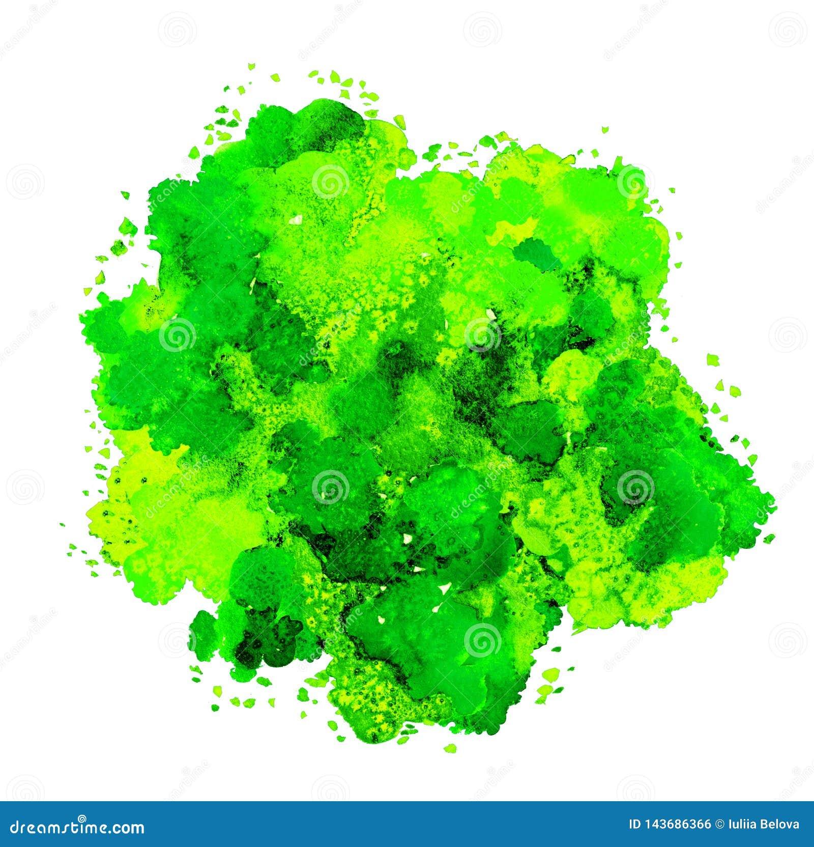 Abstrakcjonistyczna akwareli tekstura, bionic forma, dynamiczny koloru kolor ?