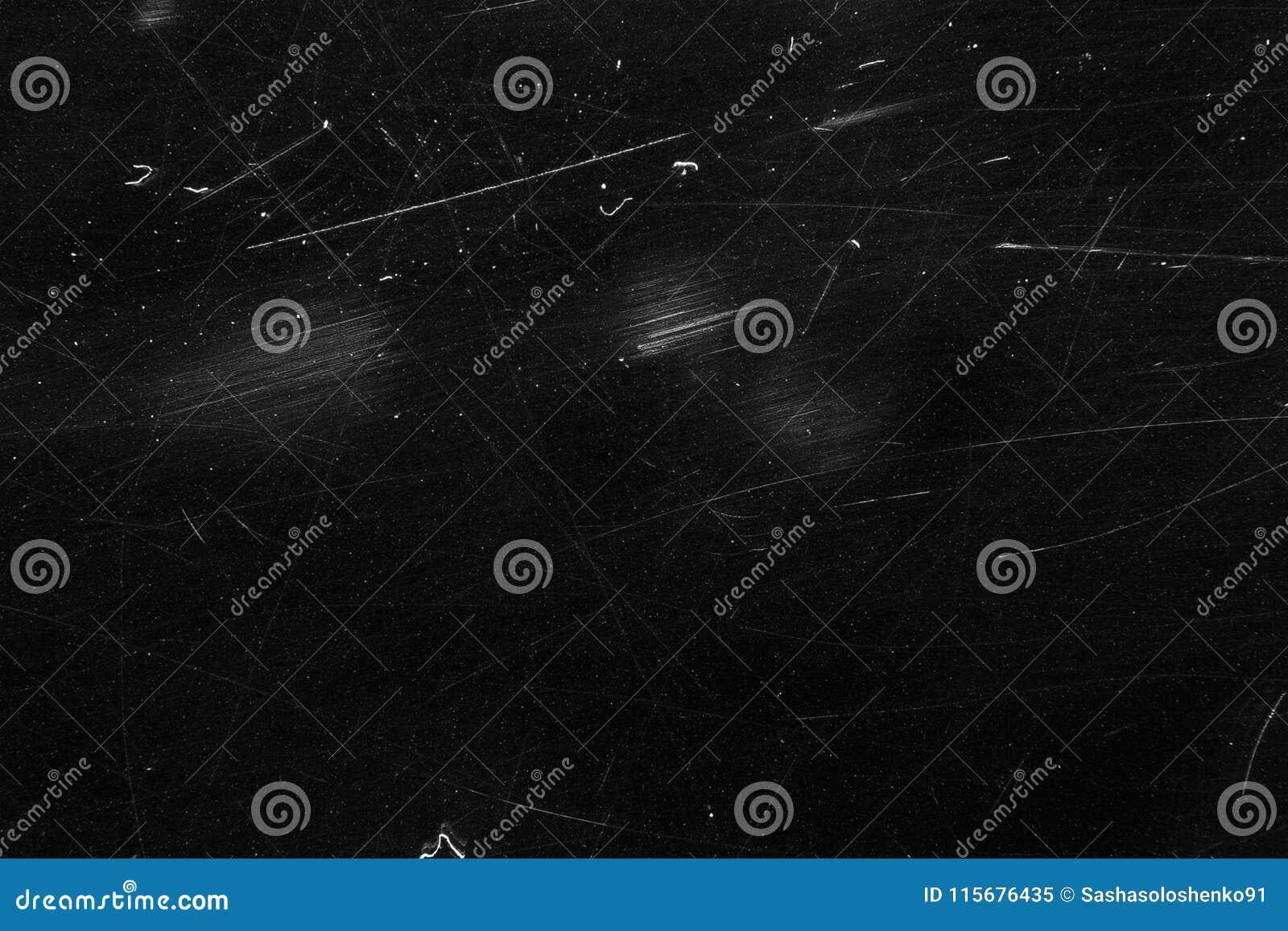Abstrakcjonistyczna czarna grunge tekstura, będąca ubranym stara powierzchnia