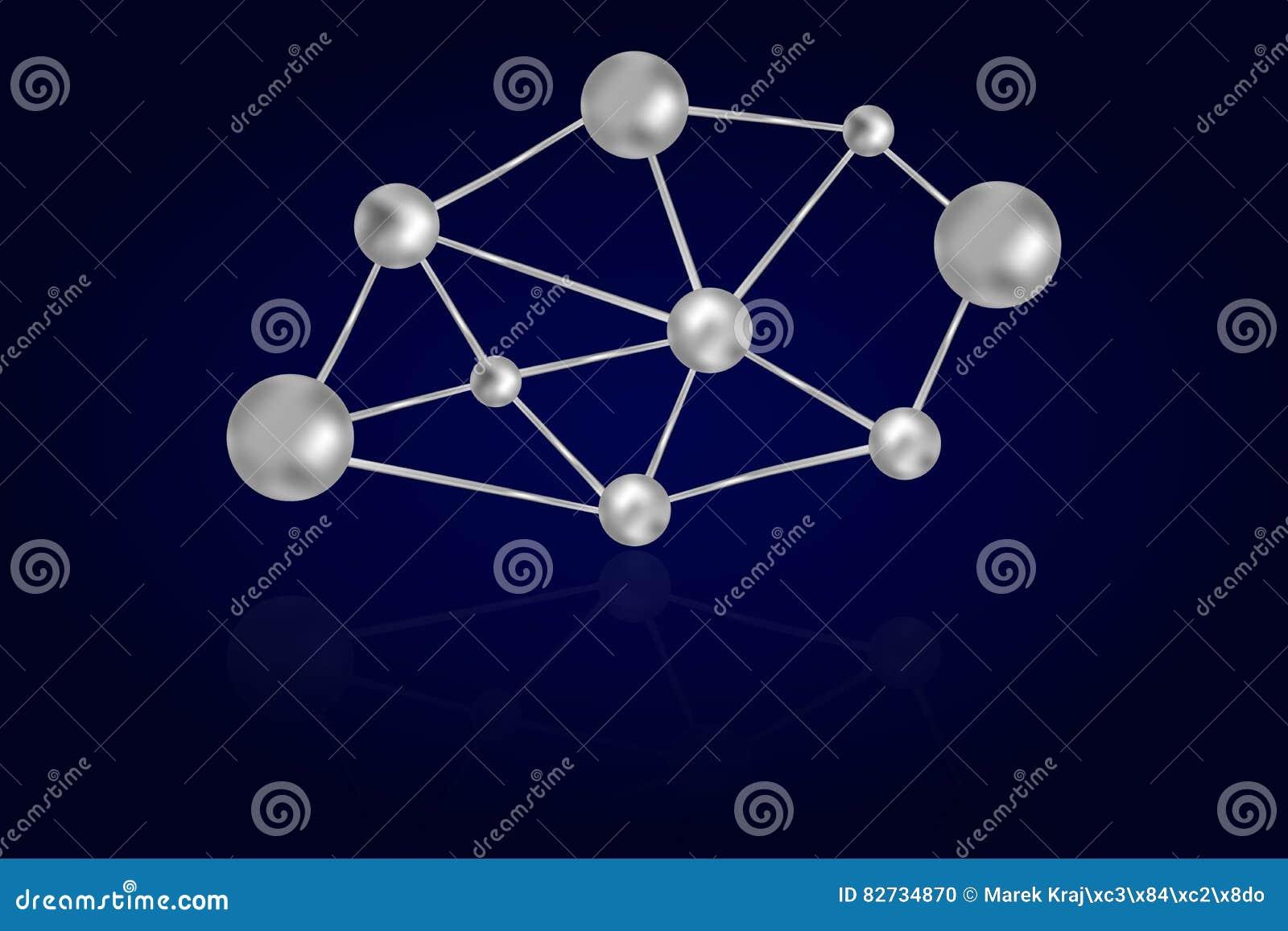 Abstrakcjonistyczna 3D stal lub żelazo okrążamy związanego z kruszcowymi liniami