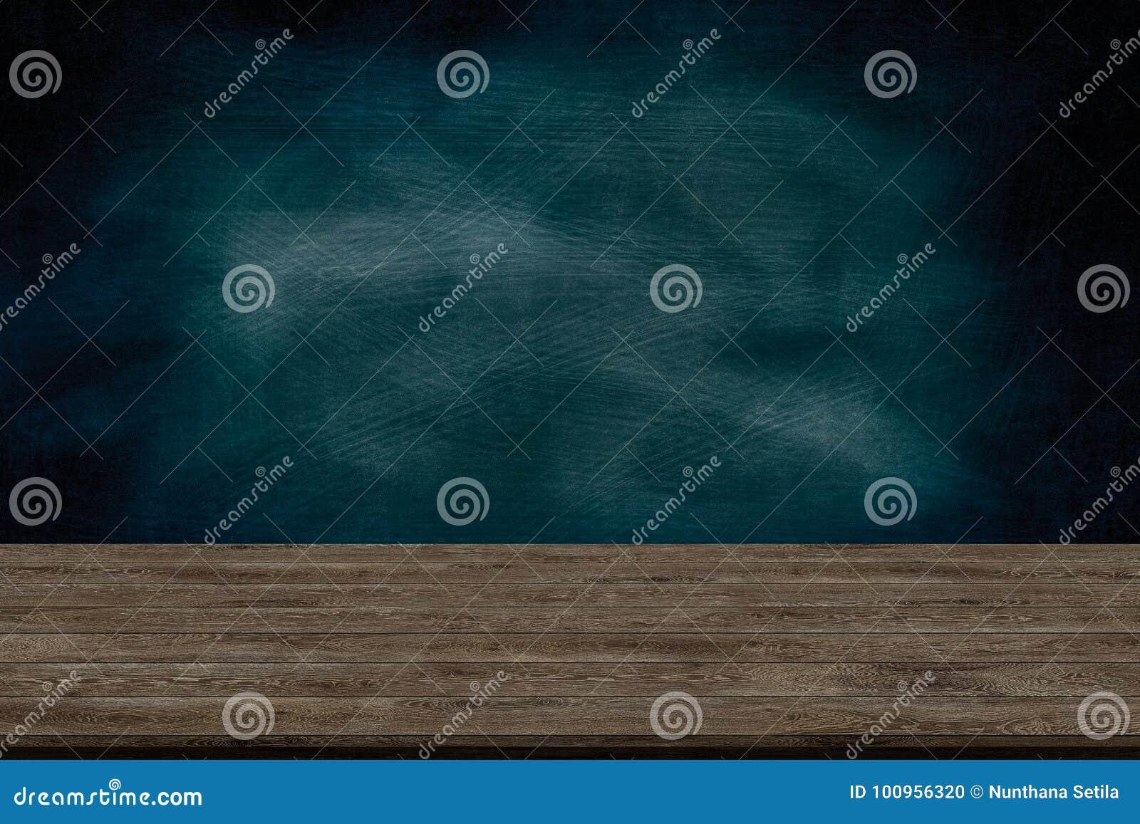Abstrakcjonistyczna drewniana stołowa tekstura, kreda nacierająca out na blackboard i grafika, dodajemy produkt, edukaci pojęcie,