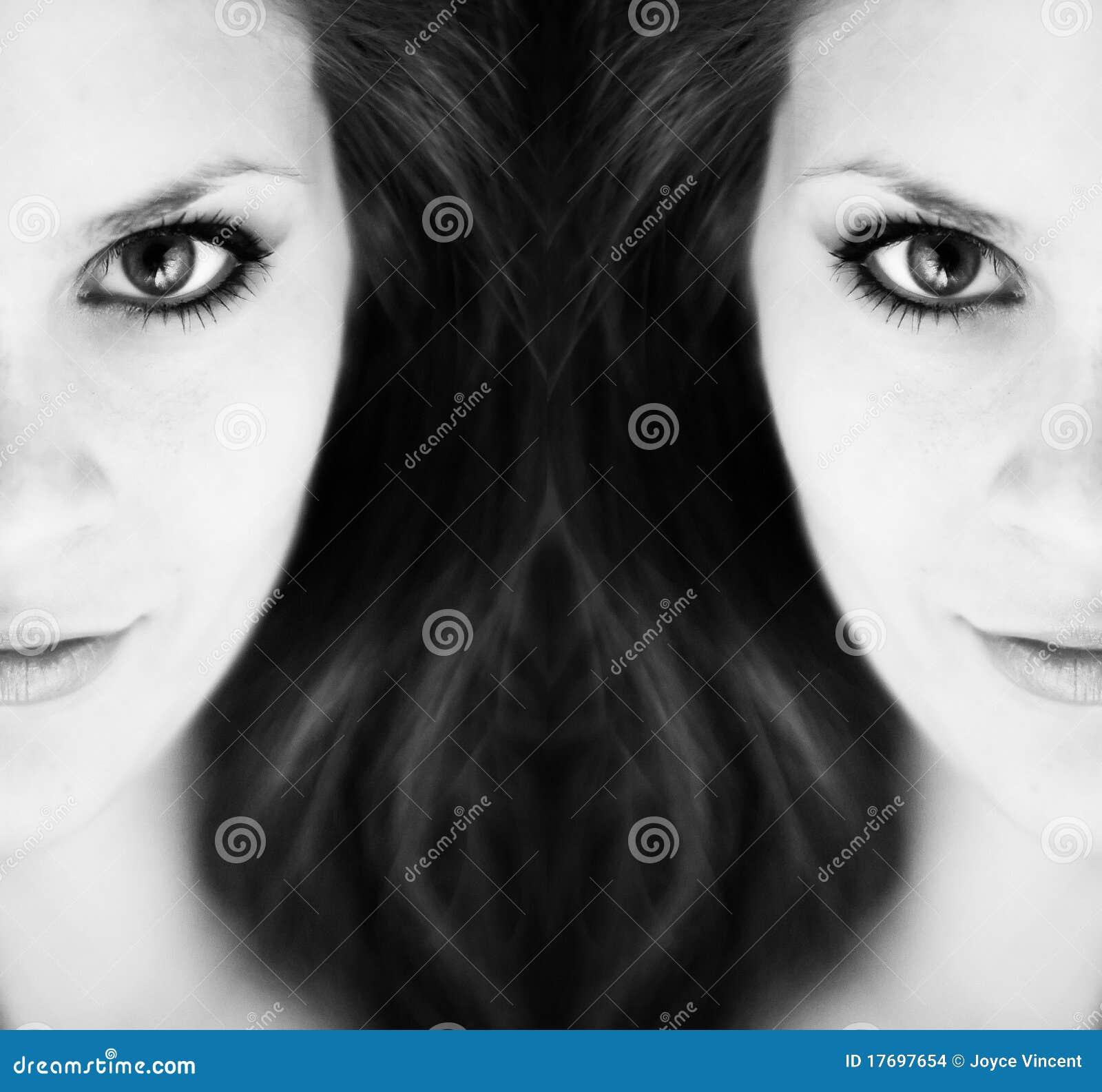Abstrakcjonistyczna dziewczyna