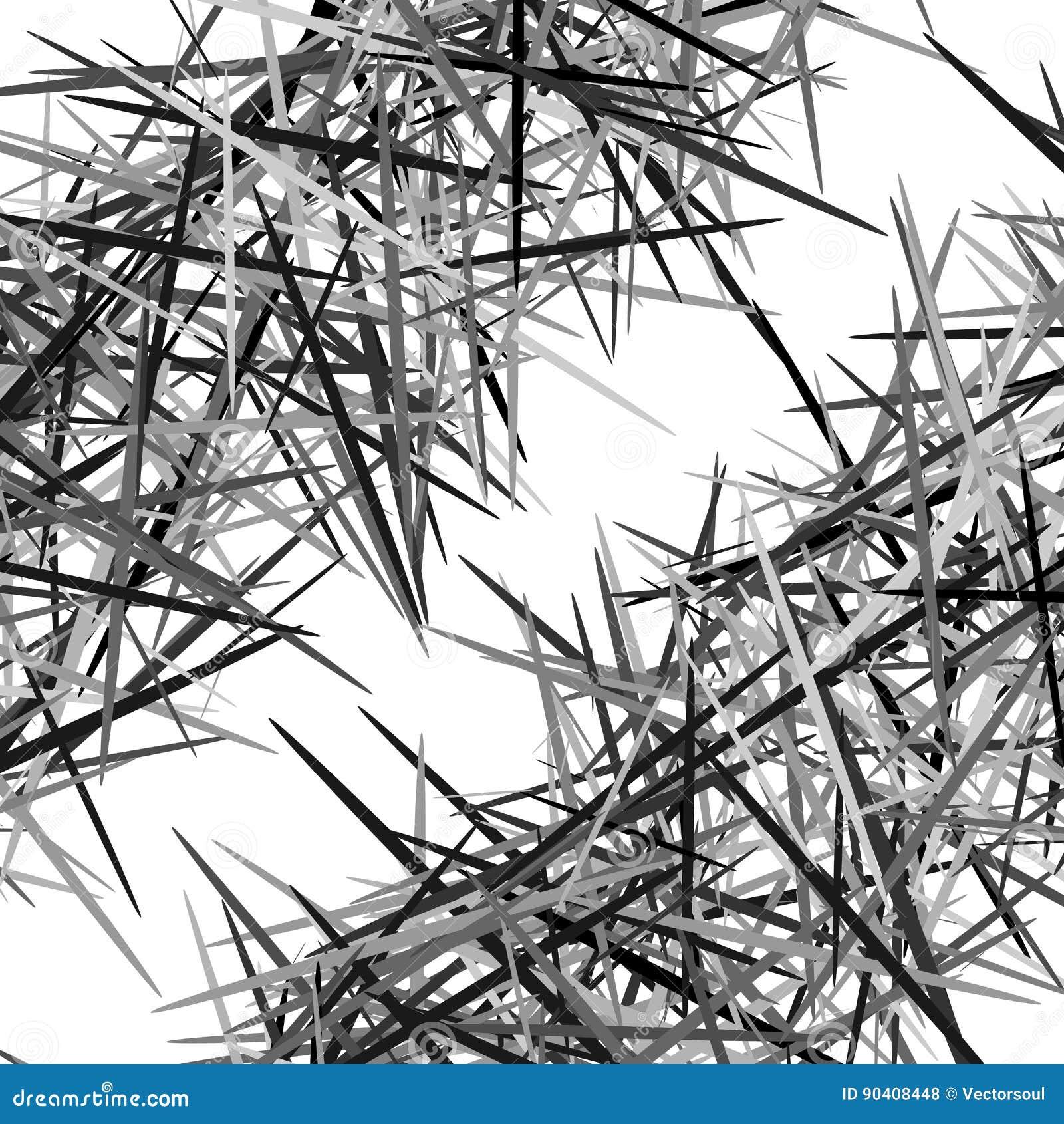 Abstrakcjonistyczna geometryczna tekstura, wzór z dynamicznymi przypadkowymi liniami A
